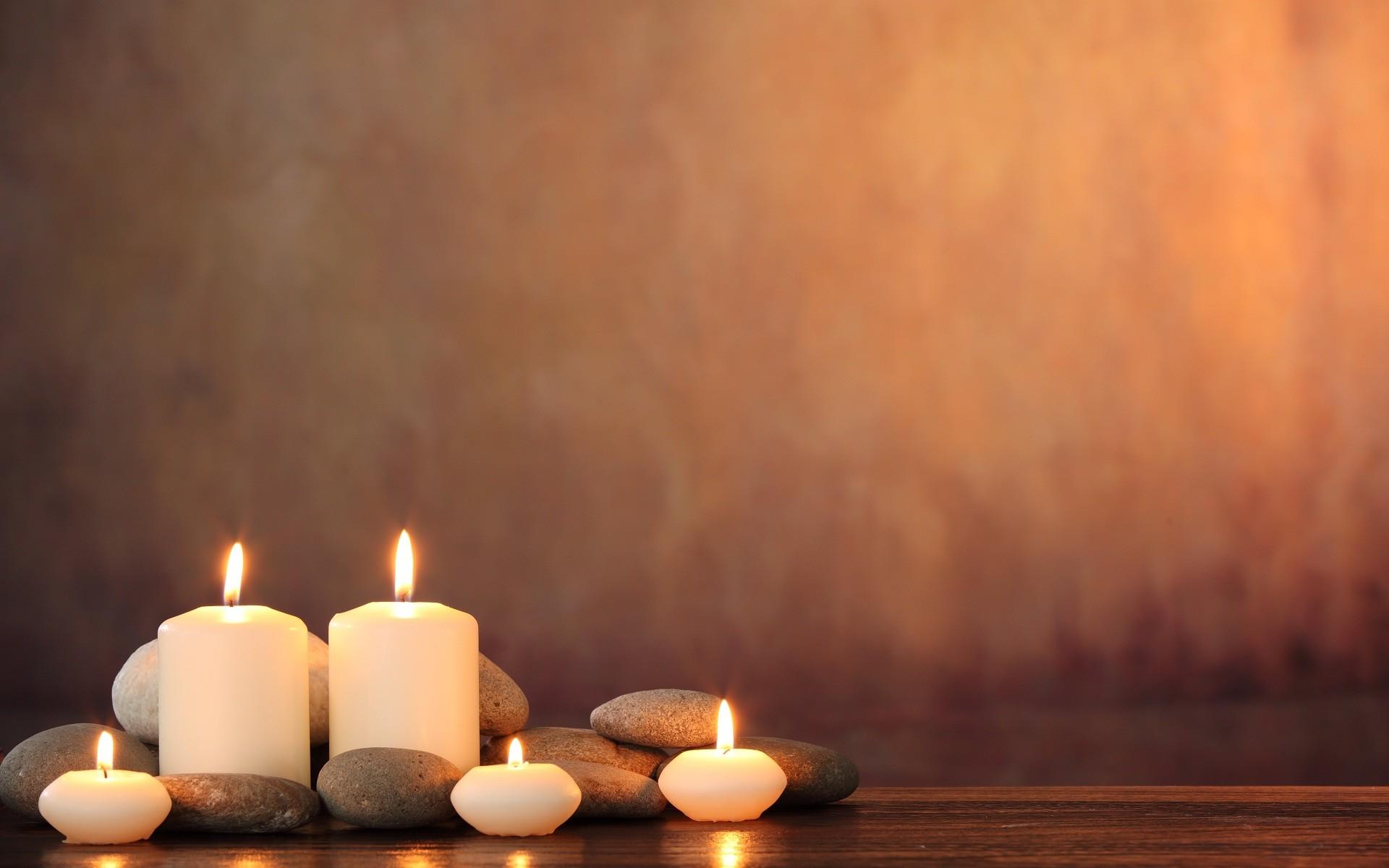 Candle light wonderful wide wallpaper