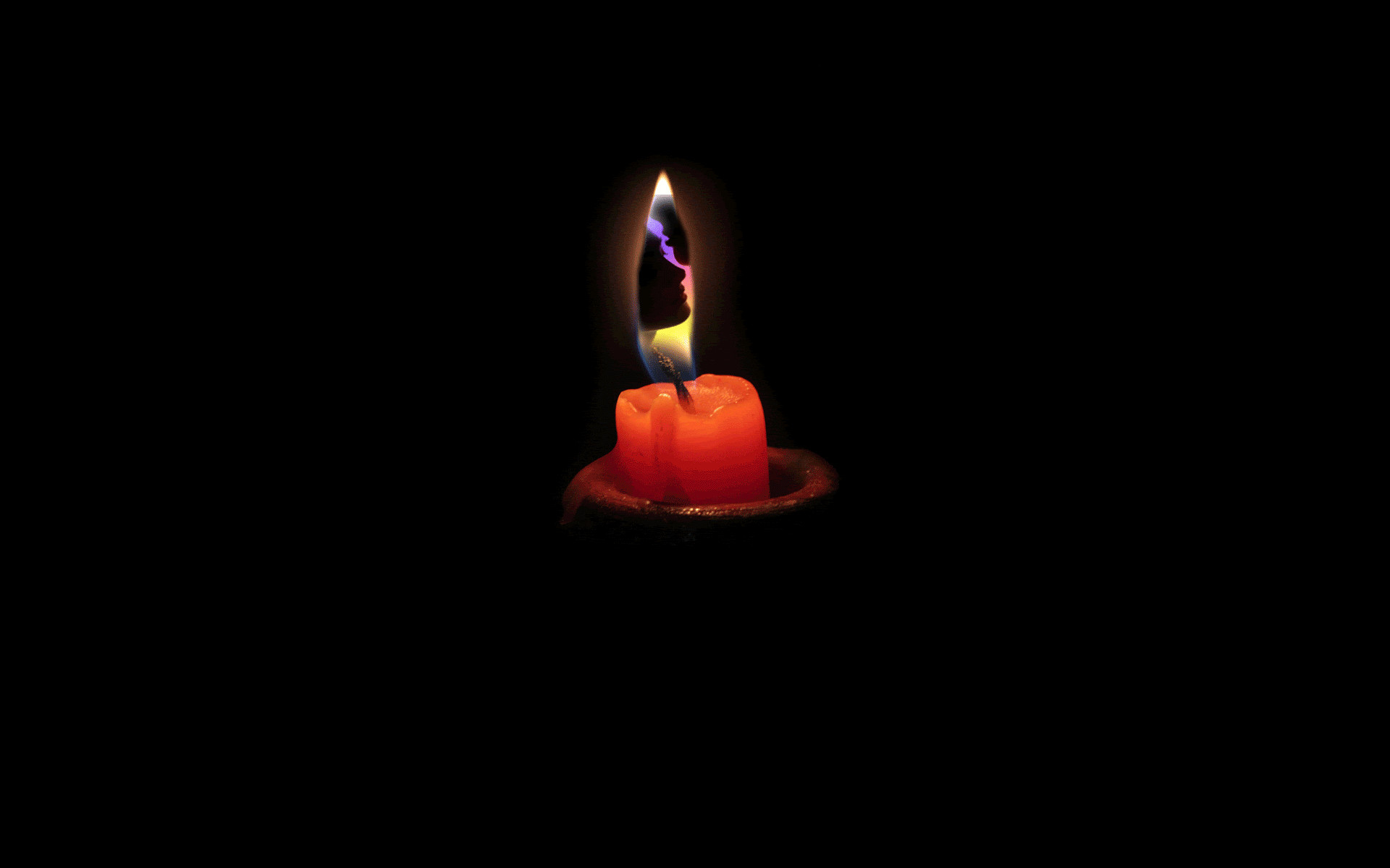 candle animated wallpaper