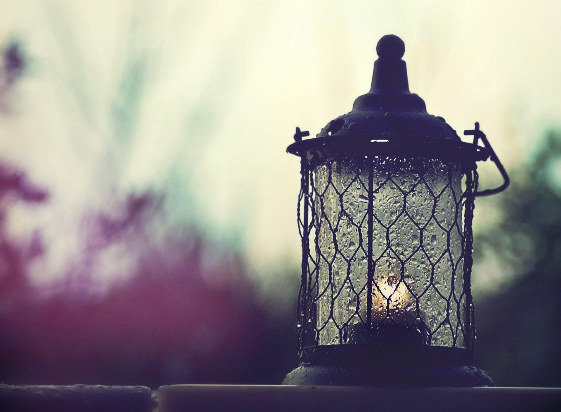 rain light candle light drops silhouettes sky rain mood