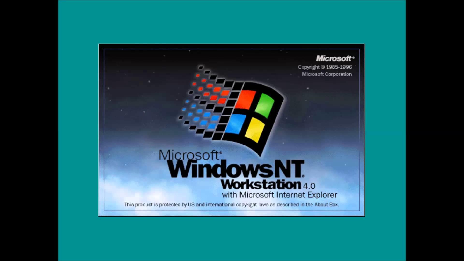 Windows NT 4.0 Shutdown Sound