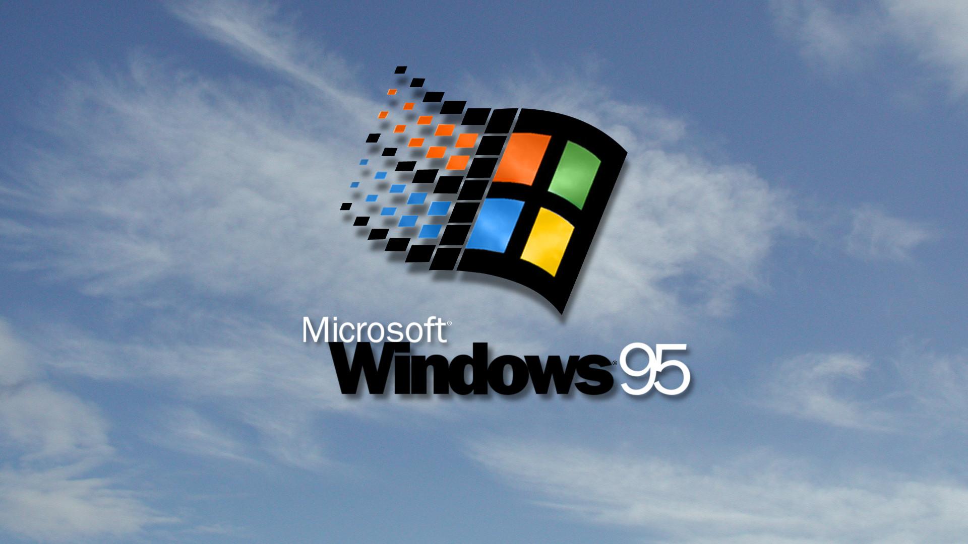 Image Windows 95 inspired wallpaper