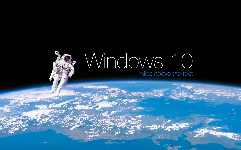 Windows 10 space 4k wallpaper – Wallpaper – Wallpaper Style