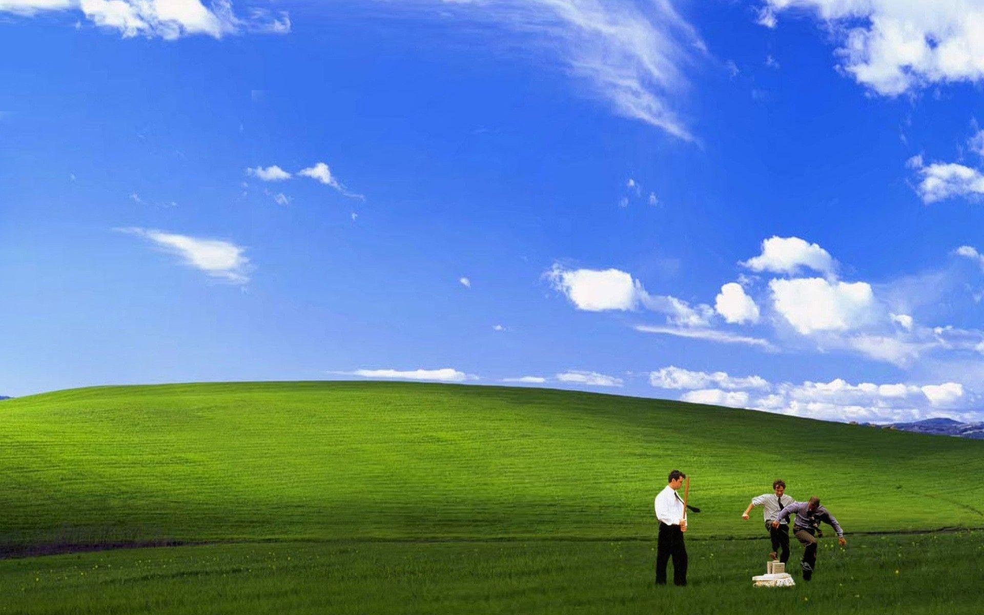 Funny Bliss Windows Xp Wallpaper
