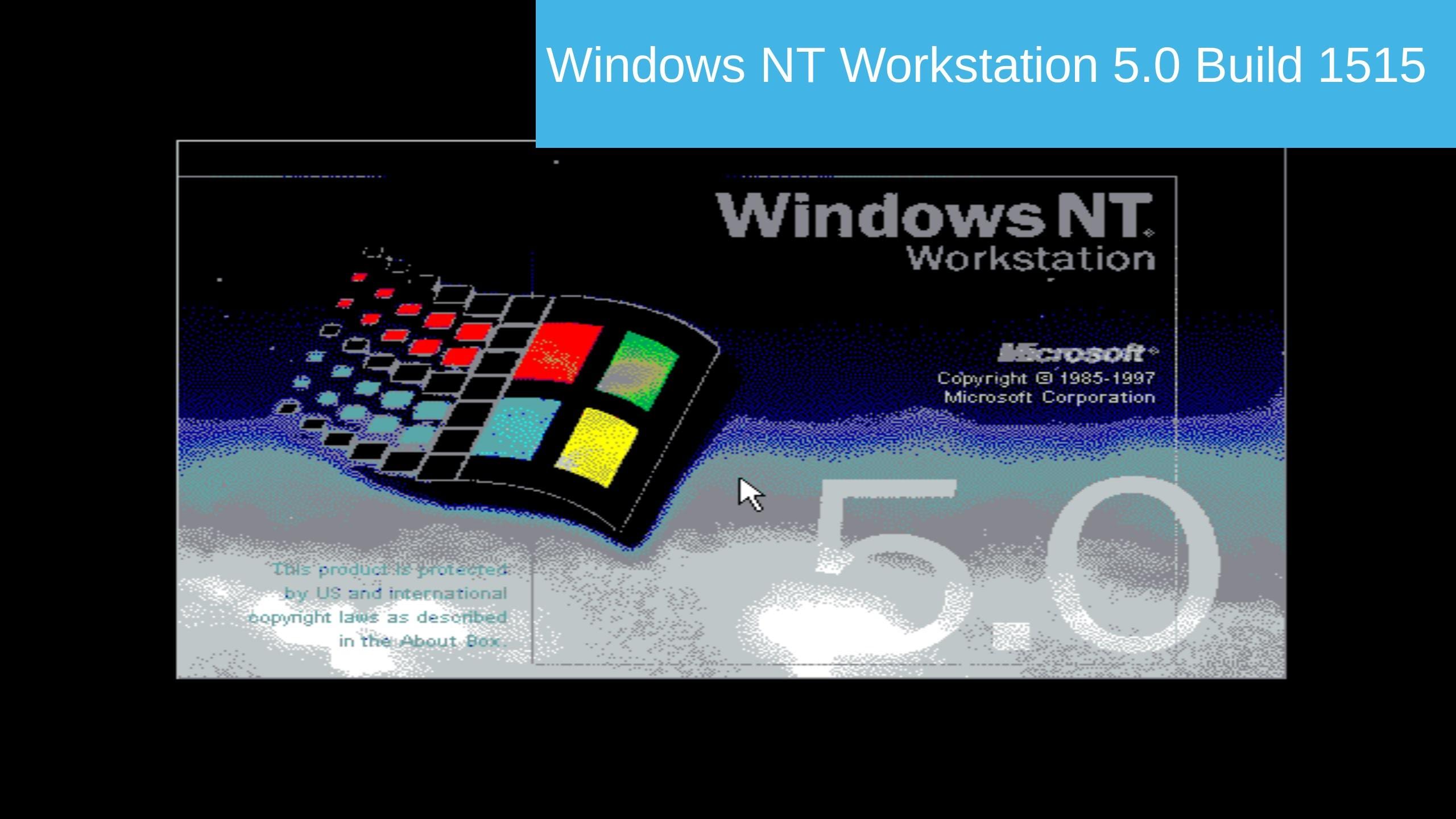 Windows NT 5.0 (Windows 2000 Pre-Beta) Build 1515 In Virtualbox! – YouTube