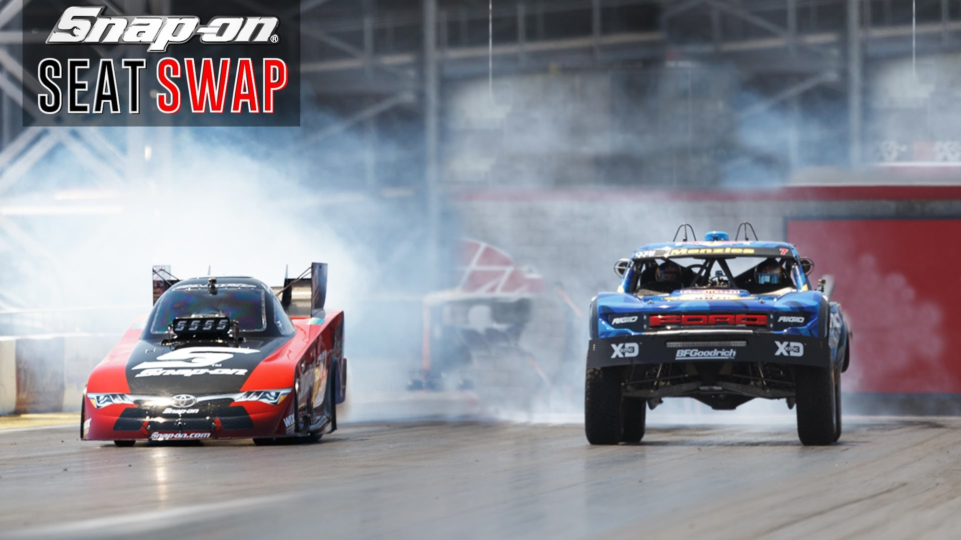 Swapping a Trophy Truck & Nitro Funny Car ft. Cruz Pedregon and Bryce  Menzies | Snap-on Tools – YouTube