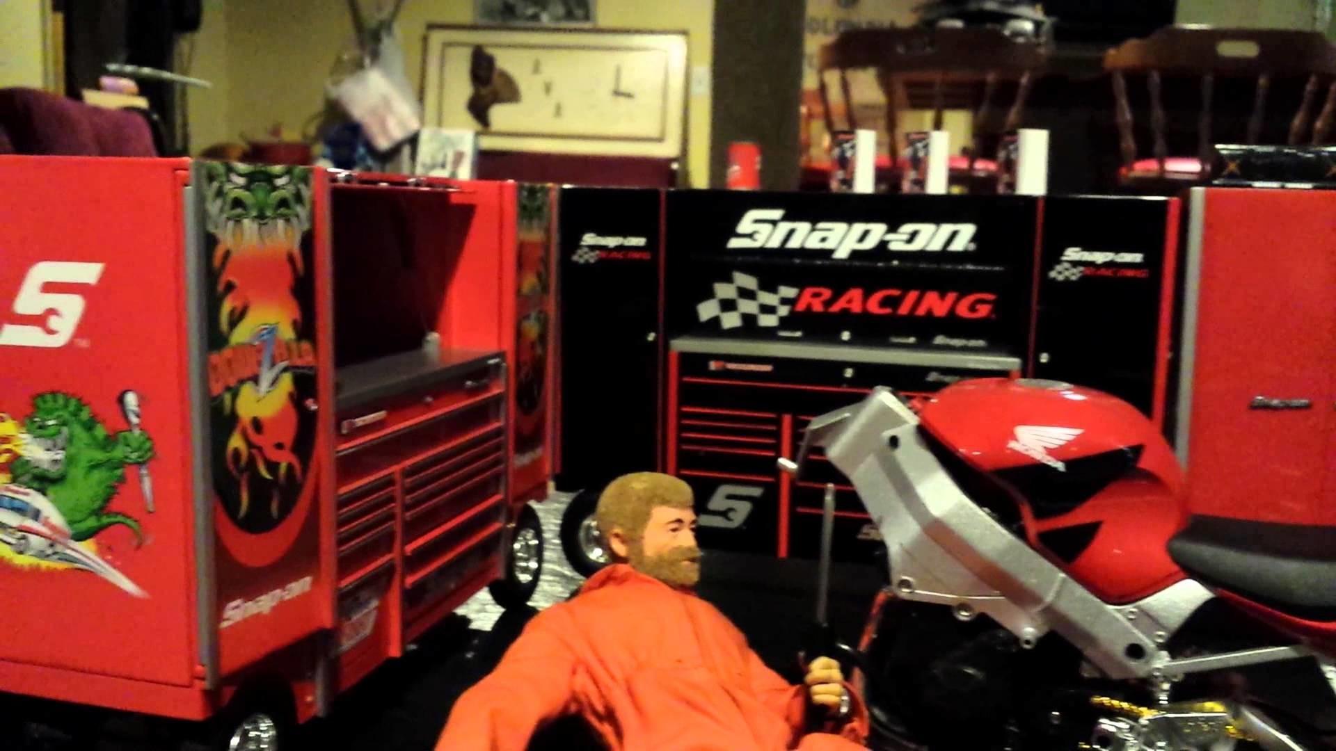 Snap on Tools Diorama Gi joe Scale 1/6