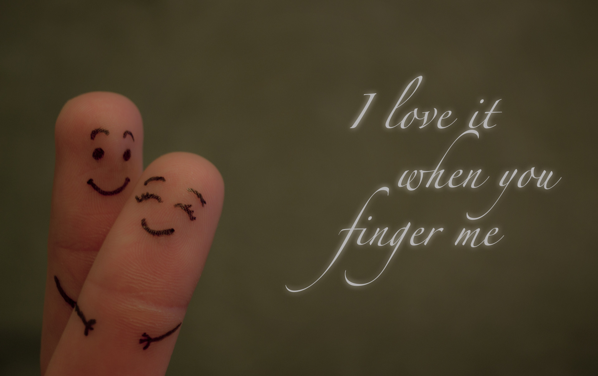 cute finger love scene like hug with quotes HD wallpaper .