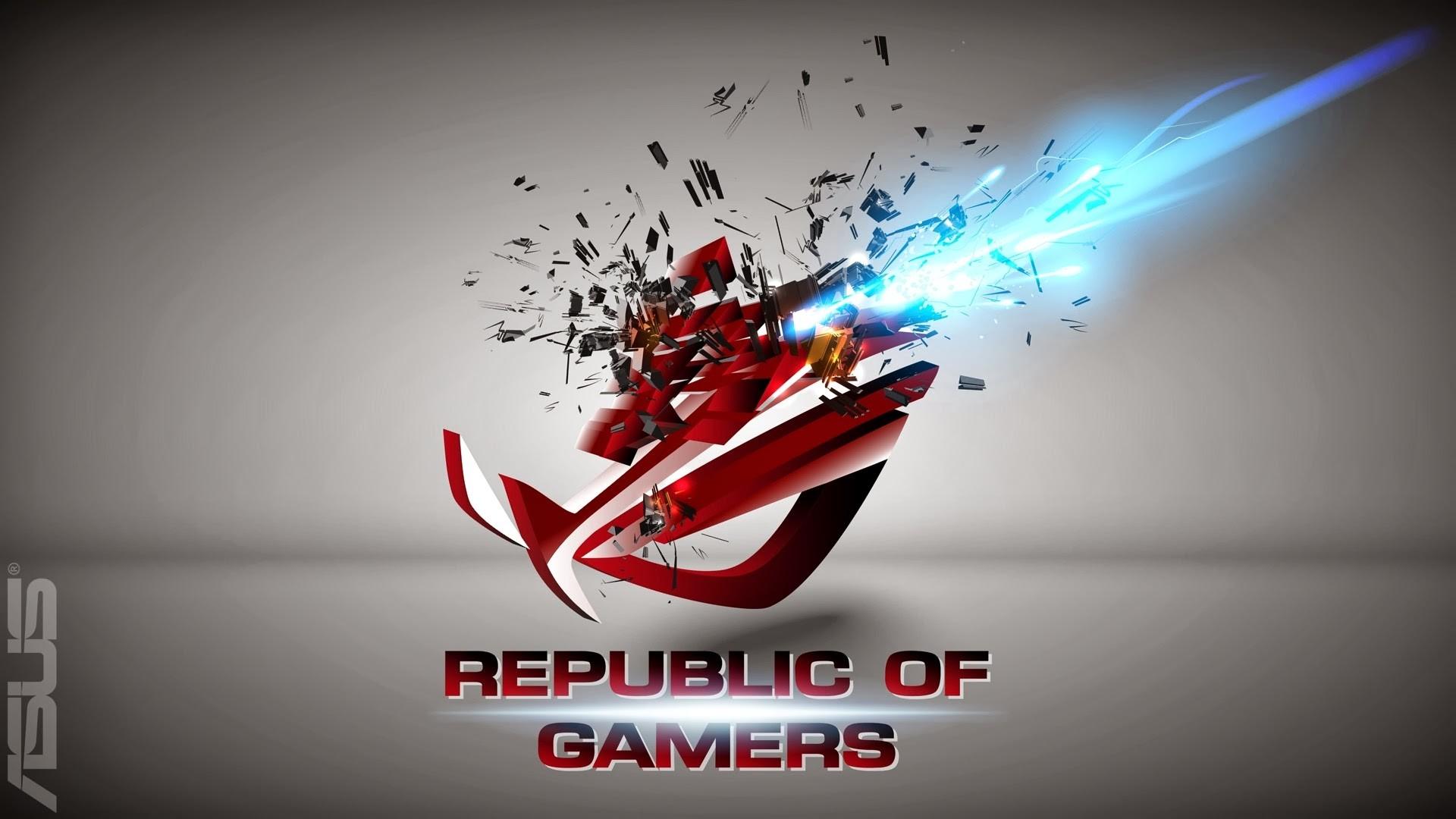 Cool Asus RoG Republic of Gamers HD Wallpaper