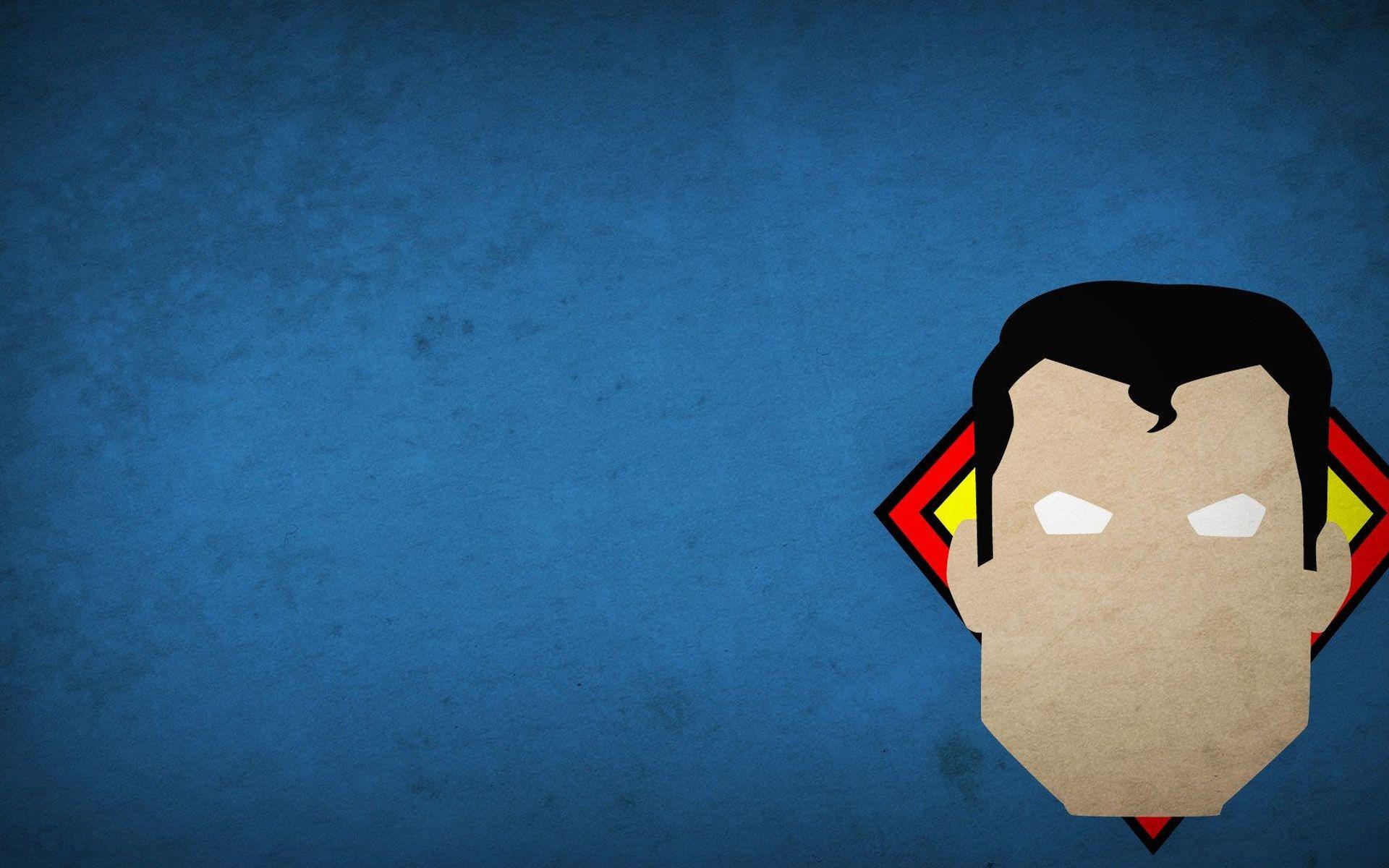 Minimalist Superhero 1080p Wallpaper