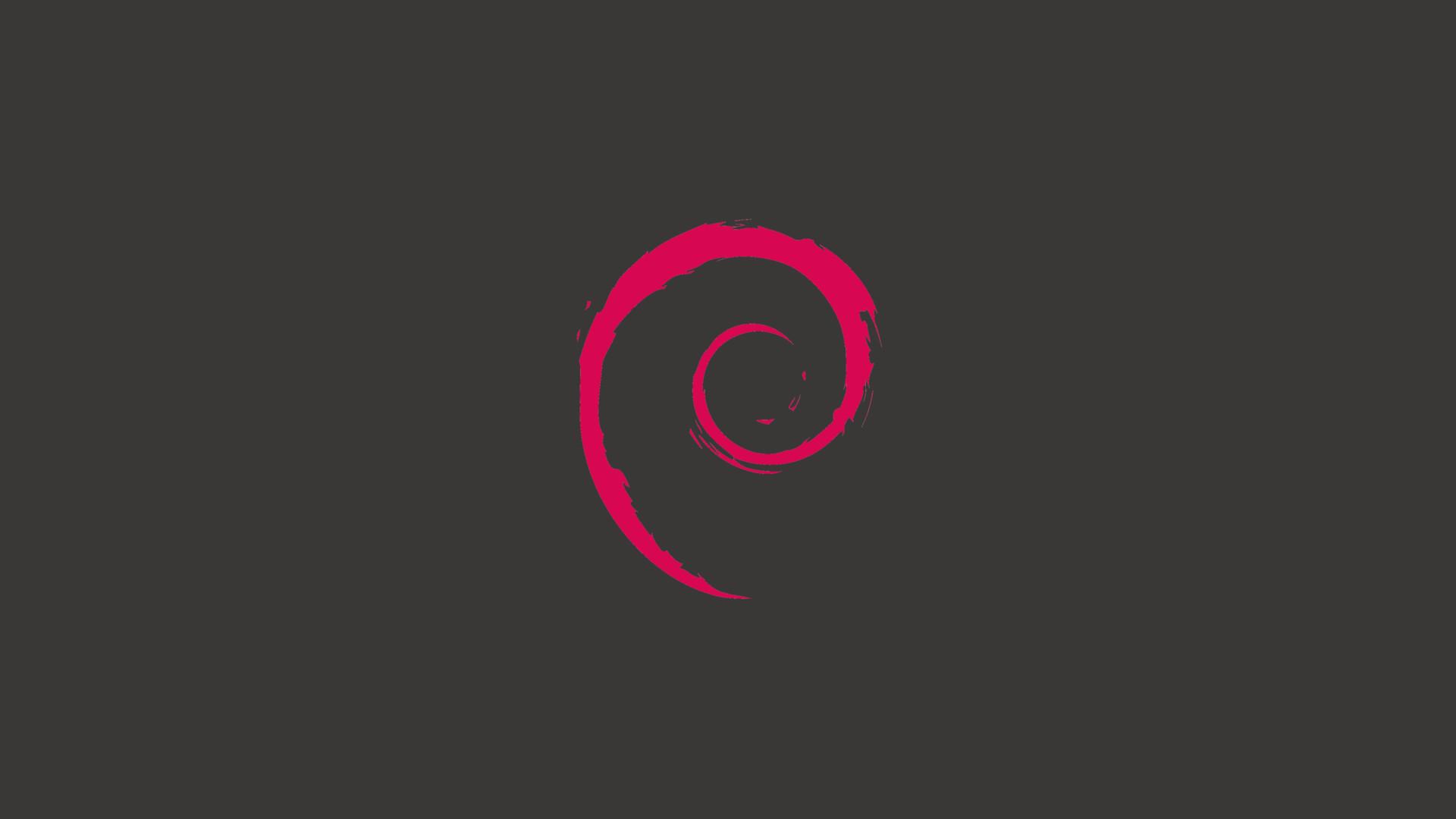 1080pMinimalist Debian Wallpaper …