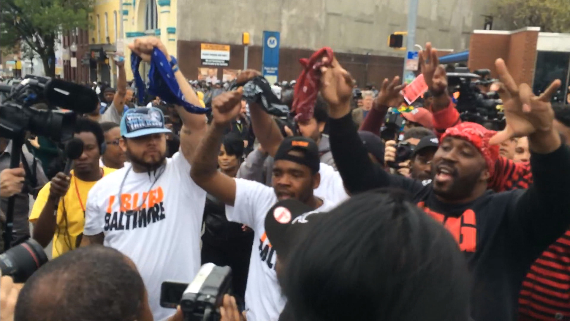 Crips and Bloods Unite to Show Support for Freddie Gray Indictment – NBC  News