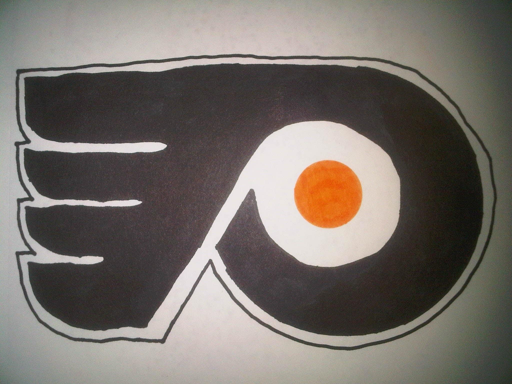 How to Draw the Philadelphia Flyers logo – YouTube