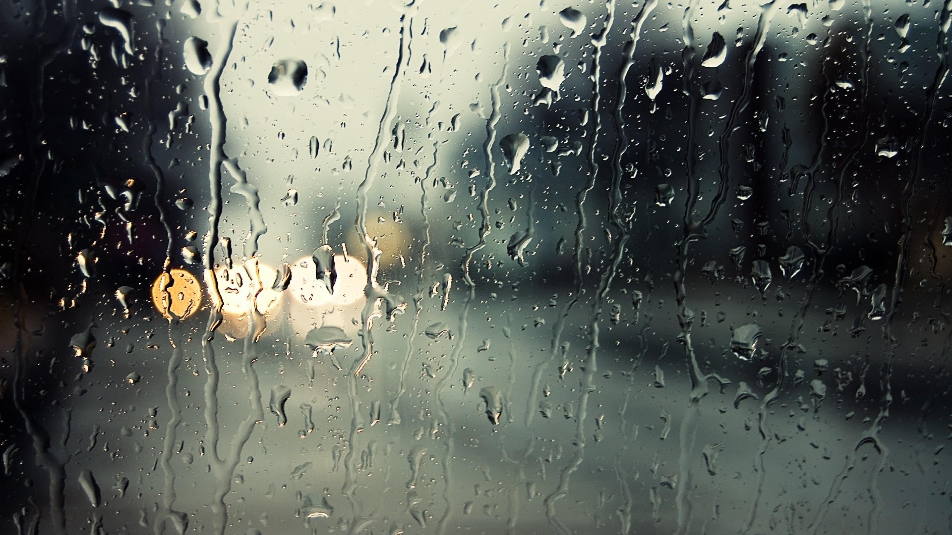 Glass, Drop, Rain, Moisture Wallpaper, Background 4K Ultra HD .