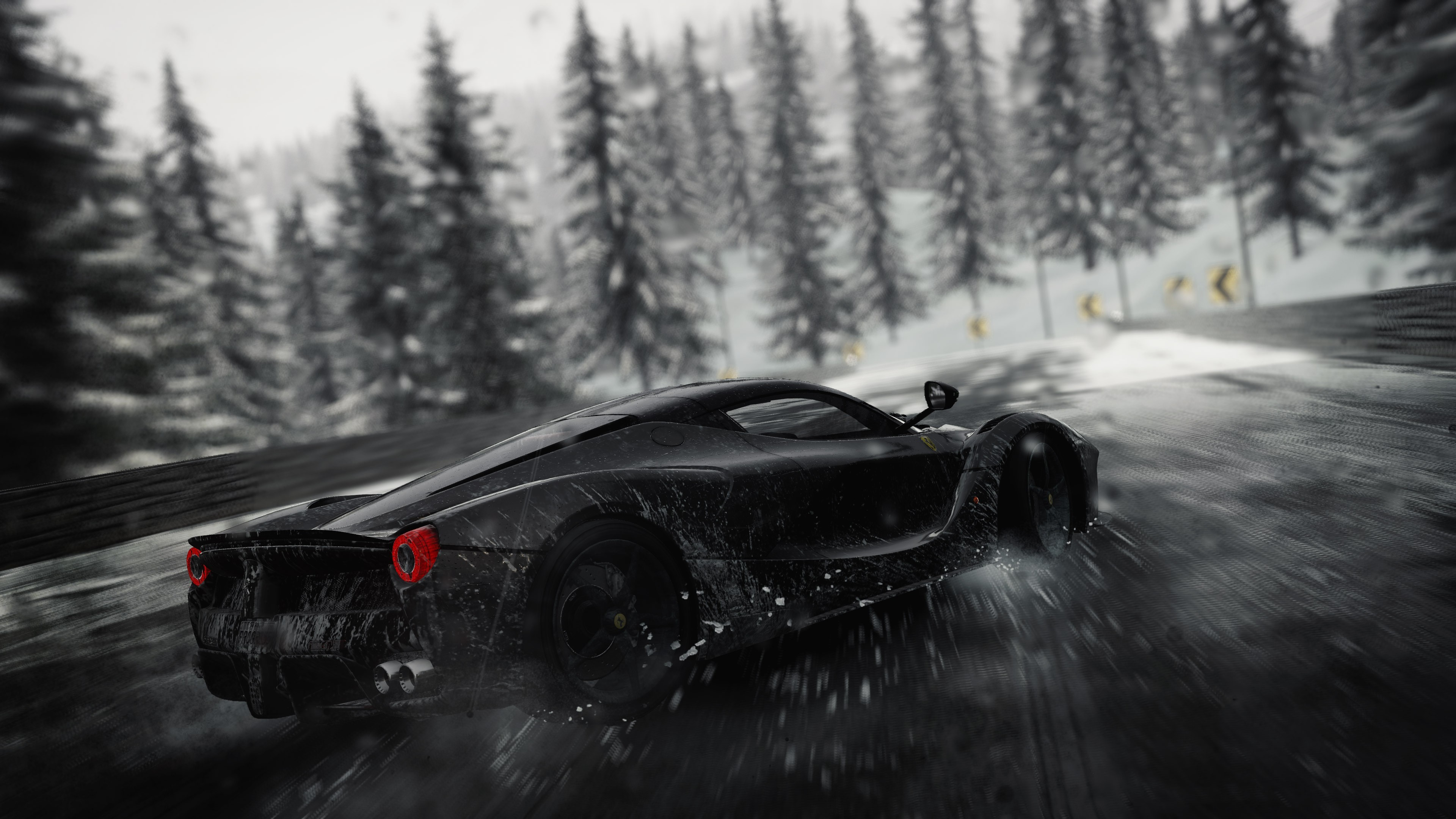 Tags: The Crew, Ferrari, Rain, 4K