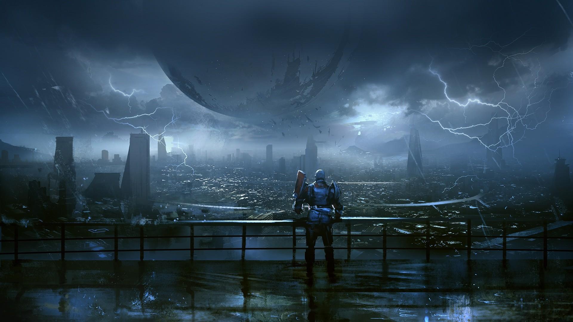 Destiny-2-4k-hd-wallpaper-Last-city-rain