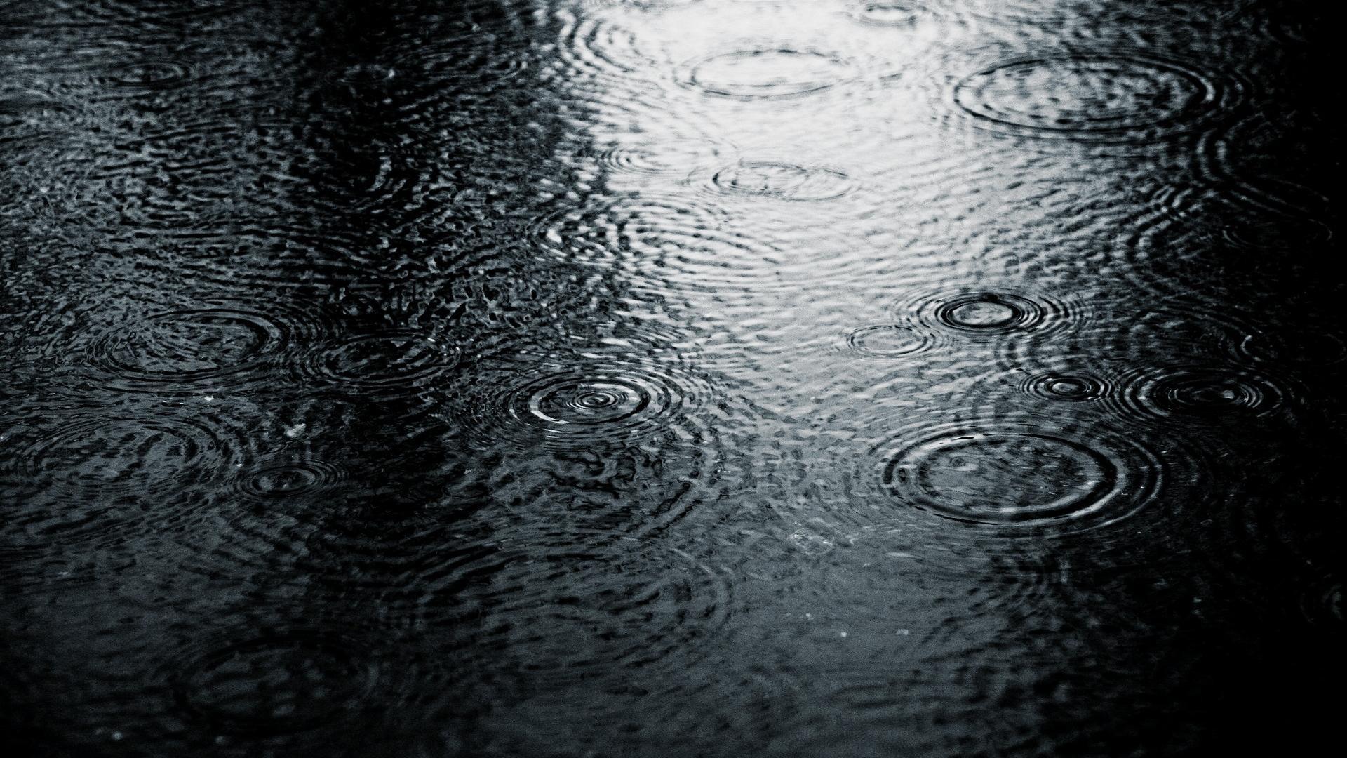 Full HD Rain Desktop Wallpaper