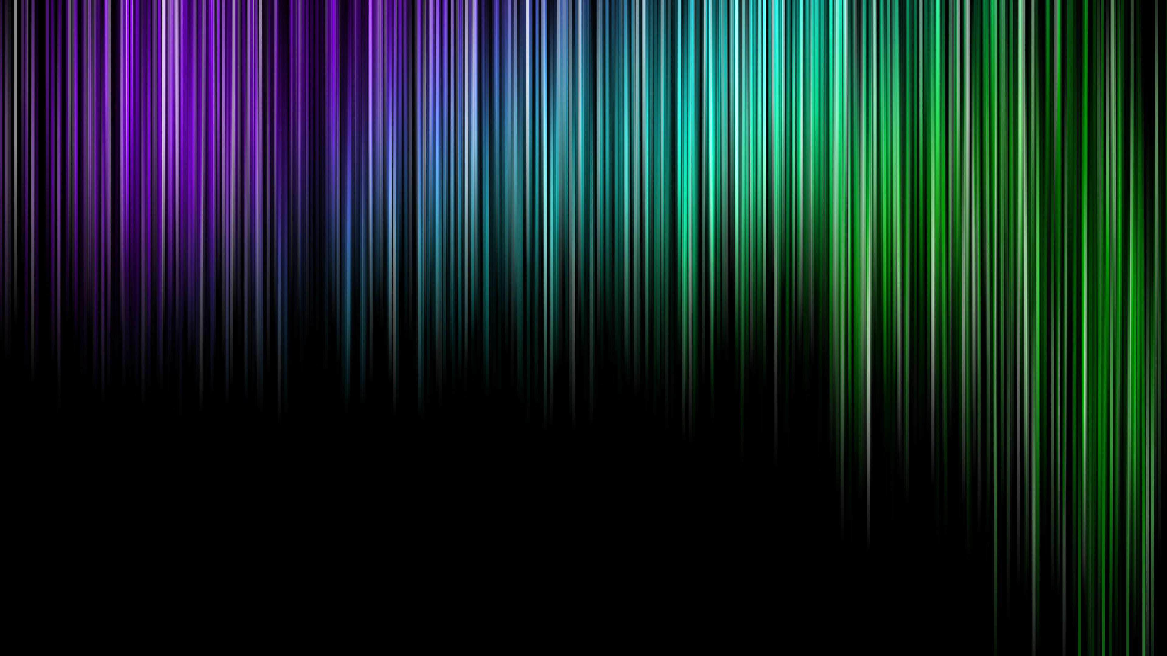 Purple to Green Digital Rain wallpaper