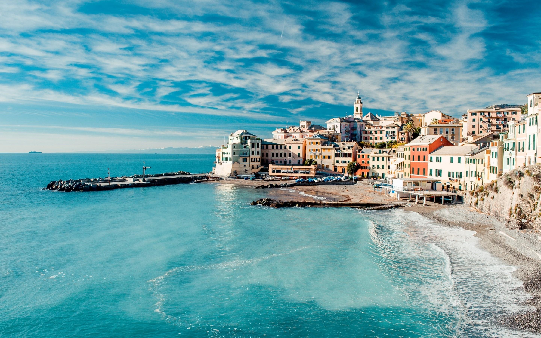 The Cinque Terre View Mac wallpaper