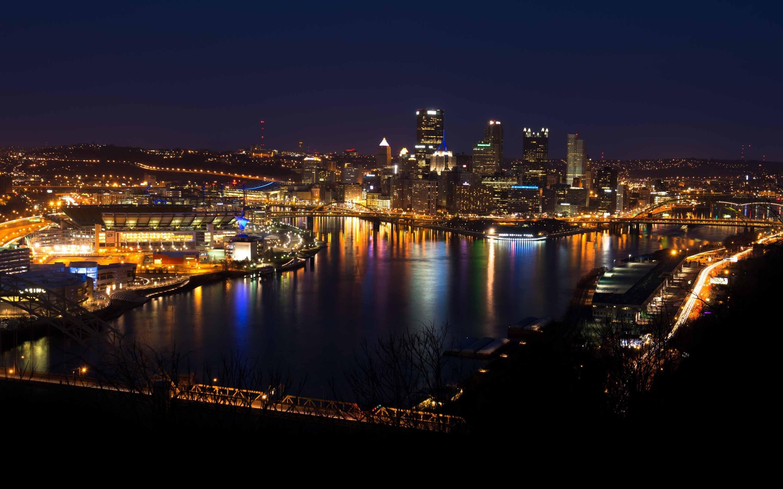 Pittsburgh Skyline Mac wallpaper