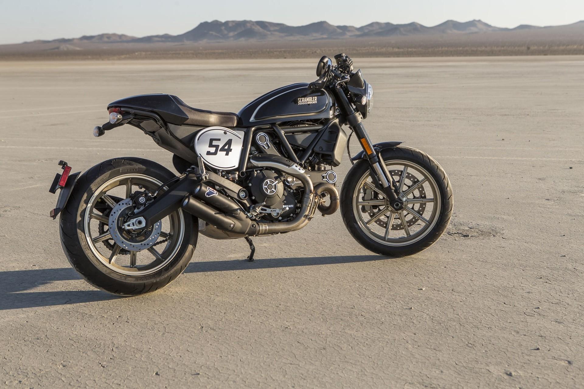 2017 Ducati Scrambler Cafe Racer Cool Wallpaper