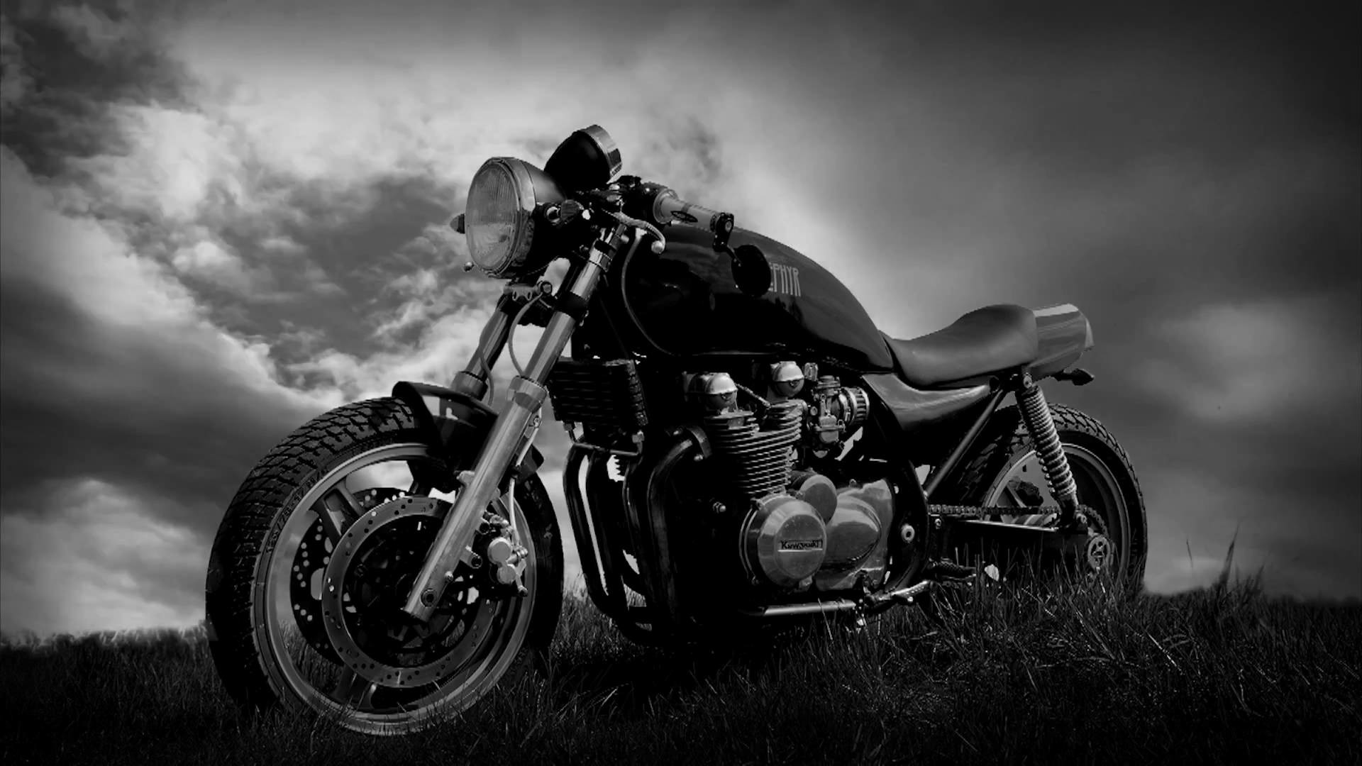 trailer Cafe Racer – the legend of the time