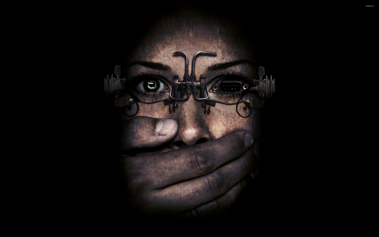 Cyberpunk glasses wallpaper jpg