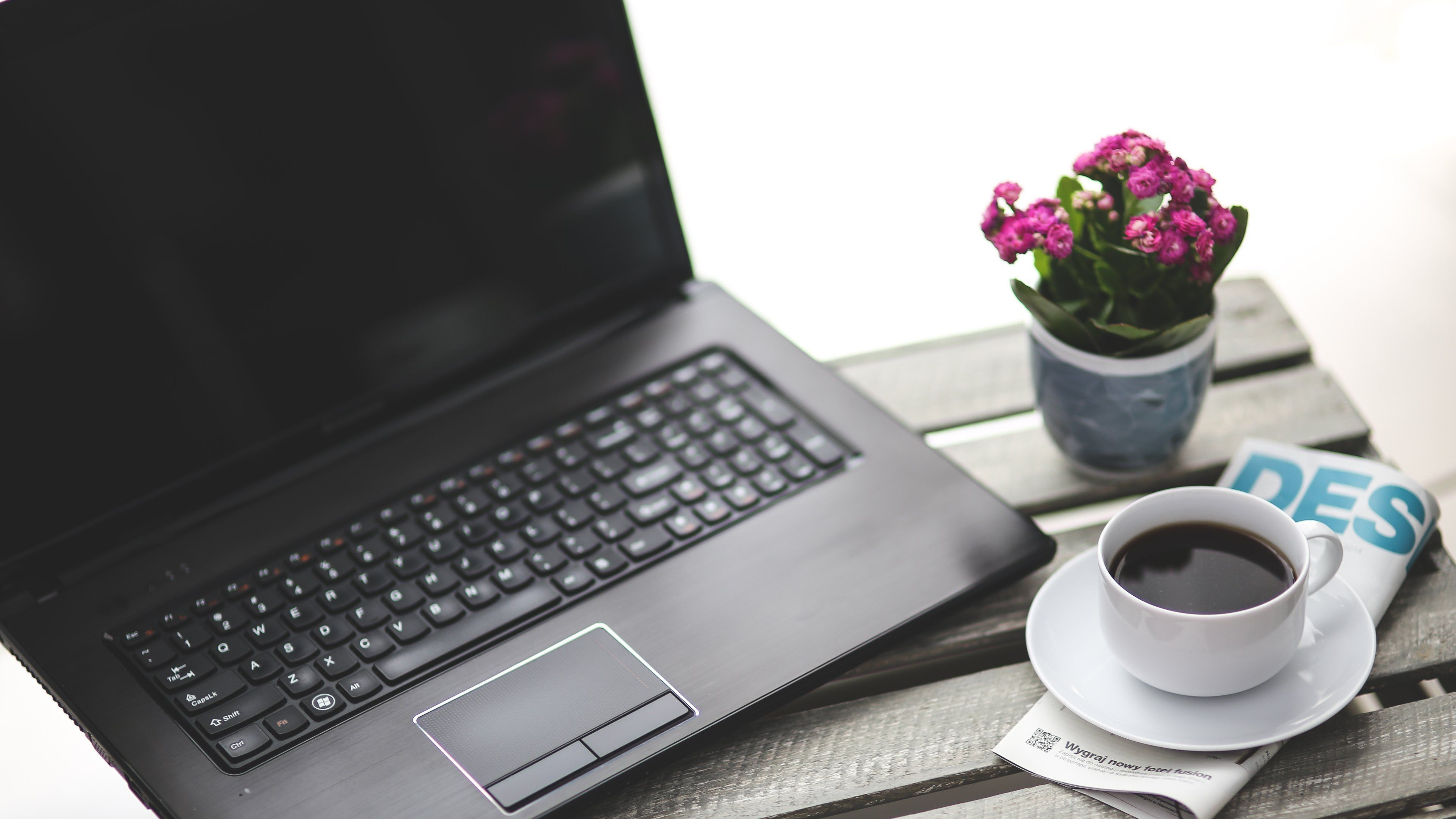 Computers: Notebook and Coffee Wallpapers :: HD Wallpapers