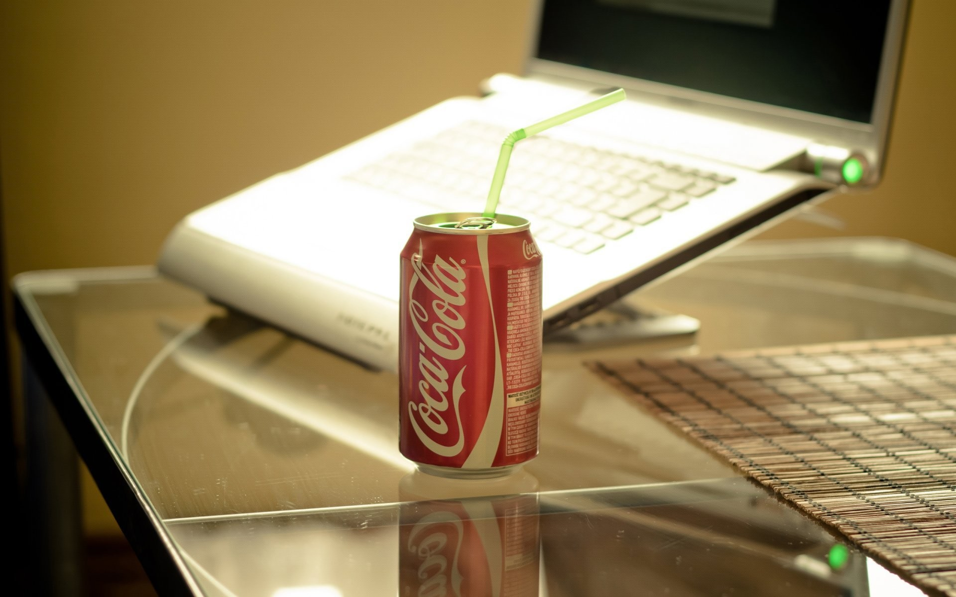 style style coca-cola drink table glass notebook notebook