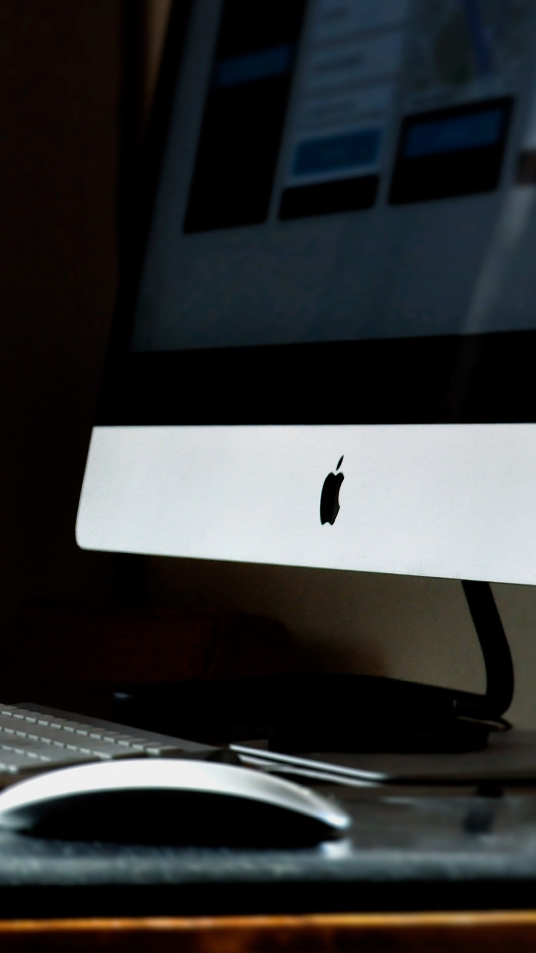 iMac Apple Computer Table Cup Notebook iPhone 8 wallpaper