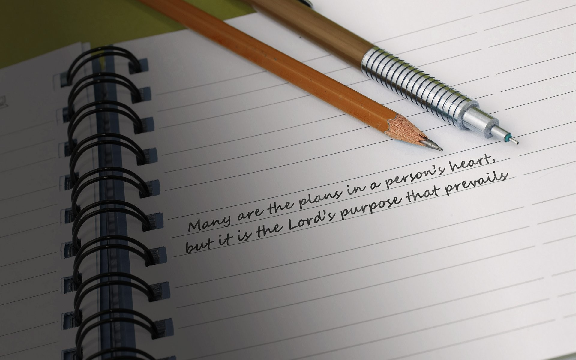 Blank Notebook Page …