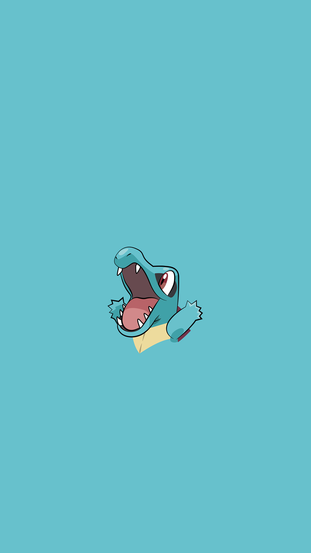 Totodile Pokemon iPhone 6+ HD Wallpaper – https://freebestpicture.com/