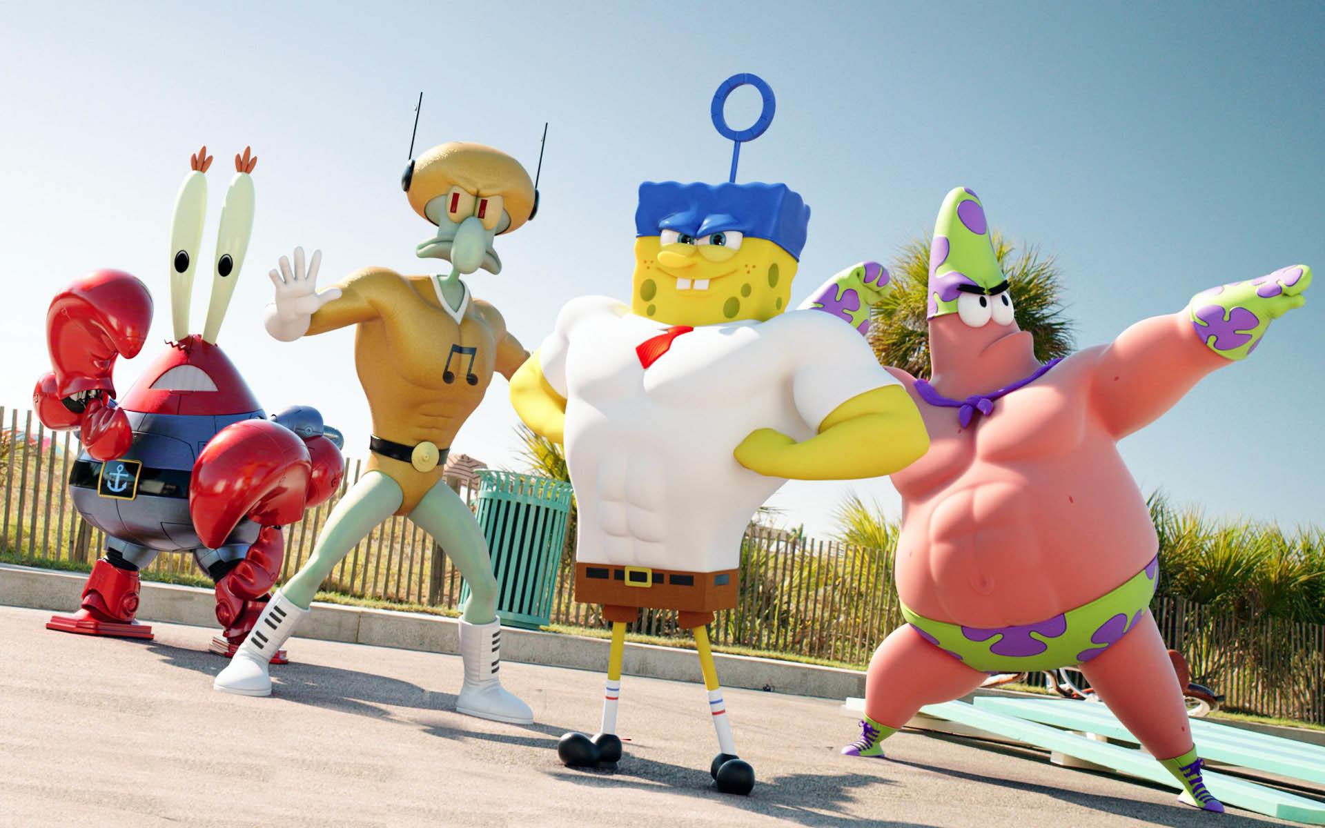 Superheroes Team – The SpongeBob Movie: Sponge Out of Water  wallpaper