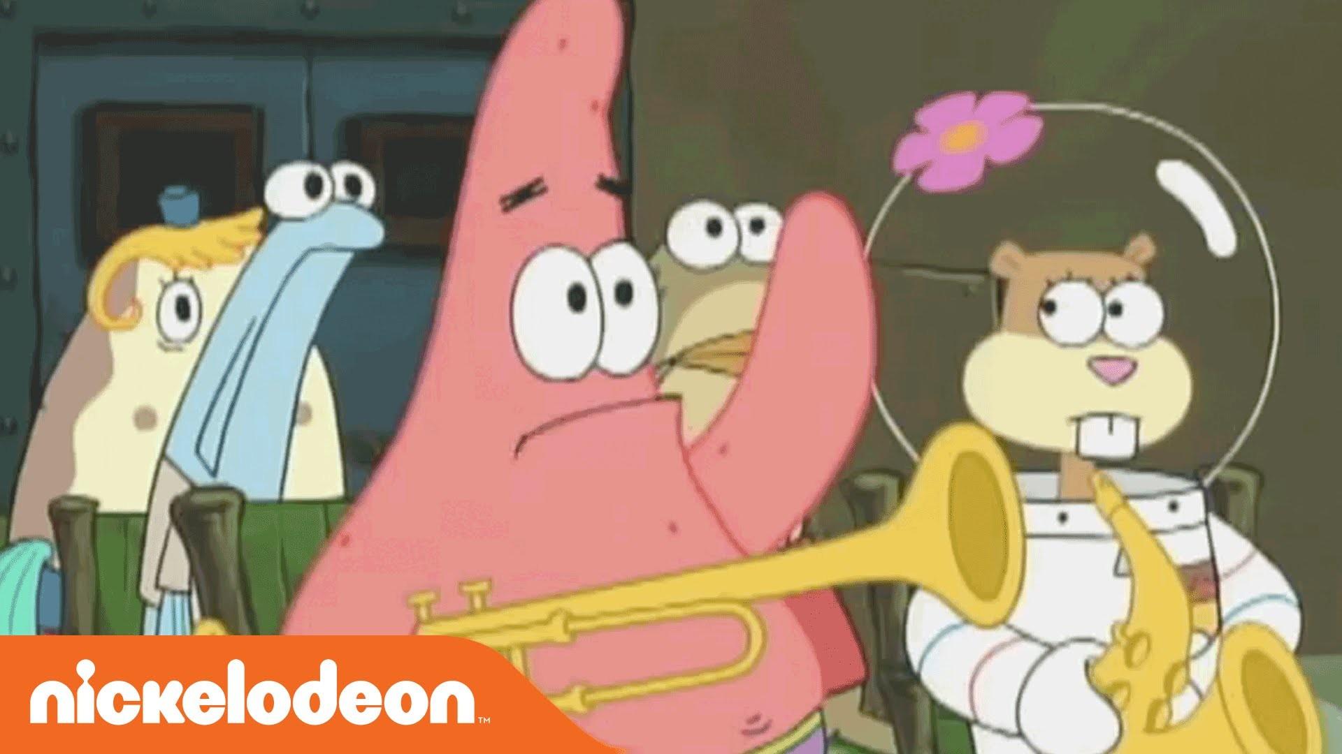 SpongeBob SquarePants | Patrick's Greatest Moments in Un-intelligence |  Nick – YouTube