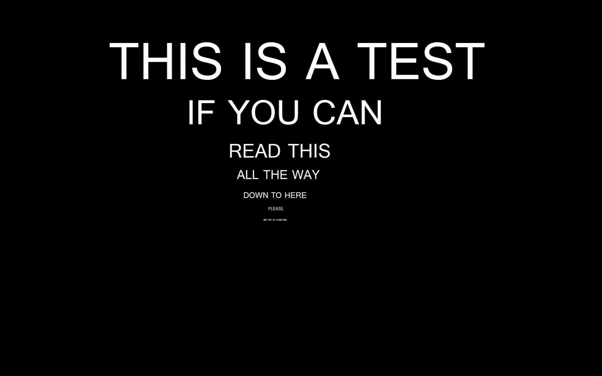 Funny Eye test Wallpaper For Desktop