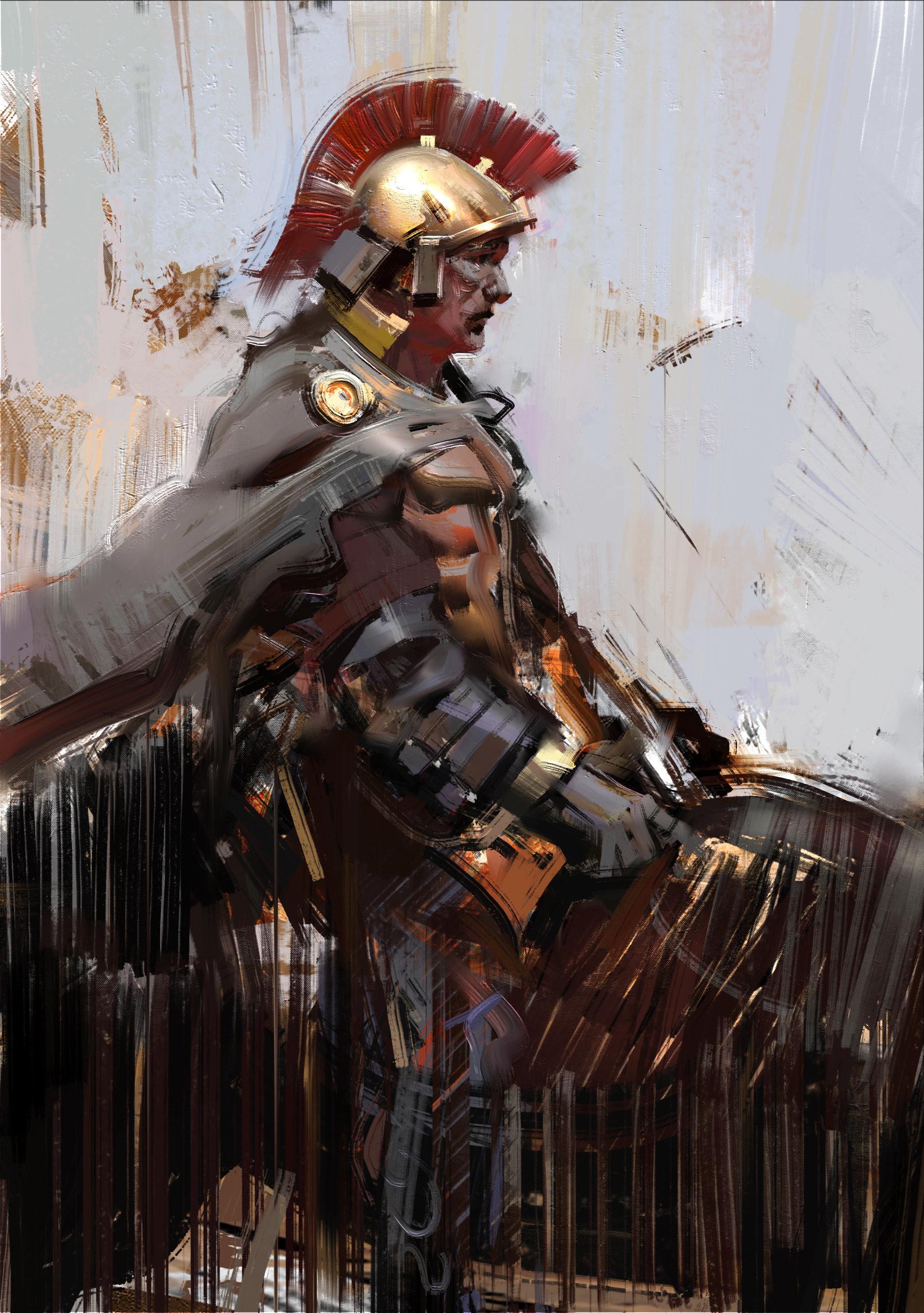 ArtStation – Roman soldier, Jama Jurabaev