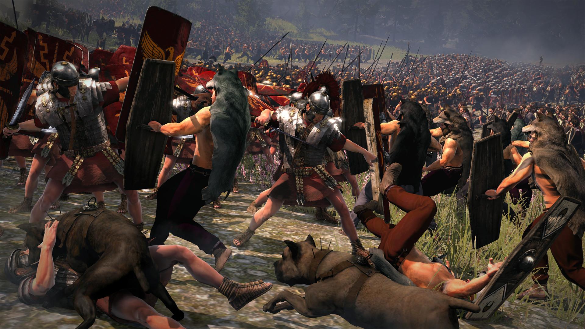 Total War: Rome II Trailer & Screenshots Re-Enact The Battle Of ..