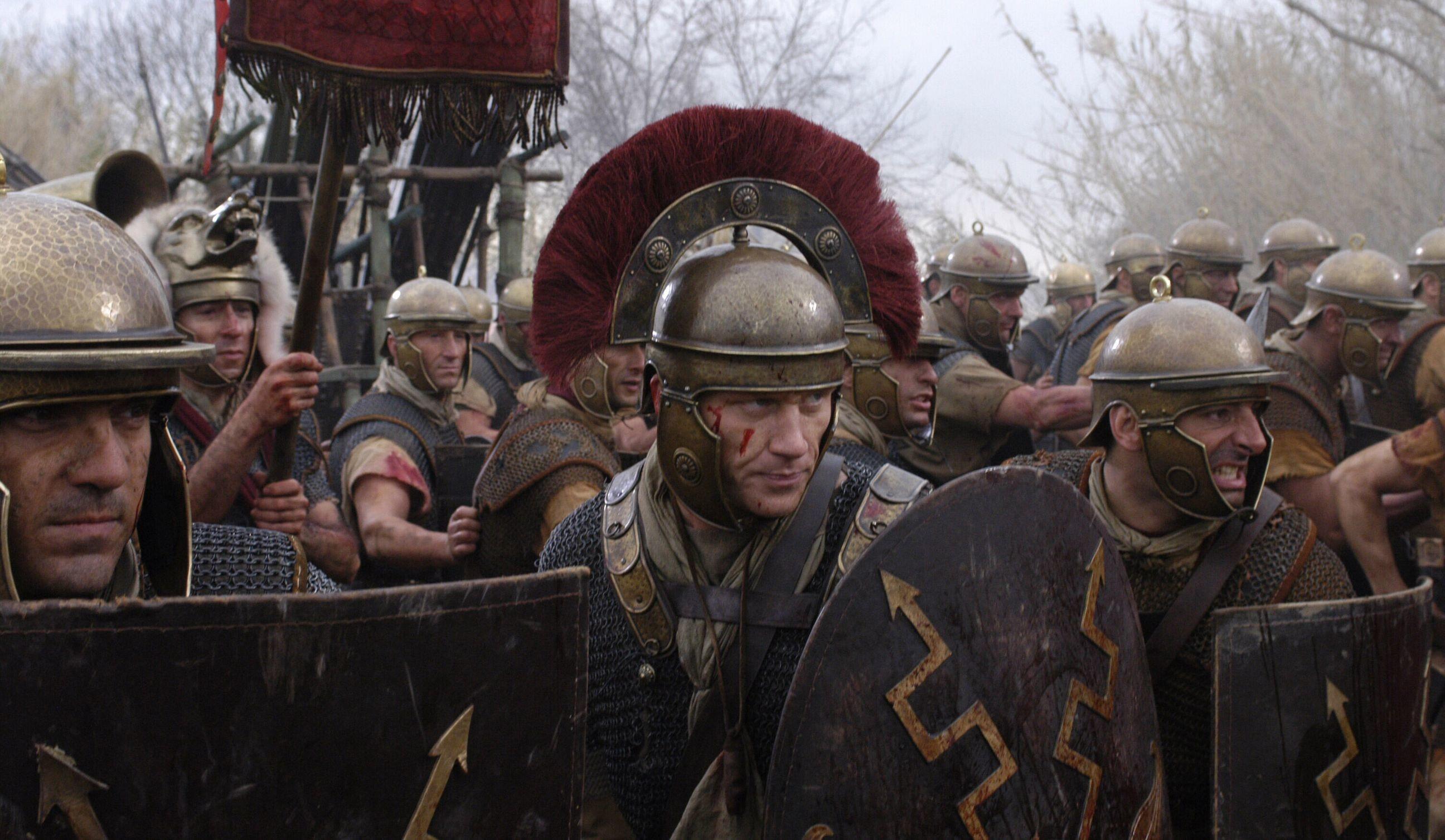 Roman legion ·  rome_hbo_dvd_polly_walker_kerry_condon_kevin_mckidd_ray_stevenson_james_purefoy