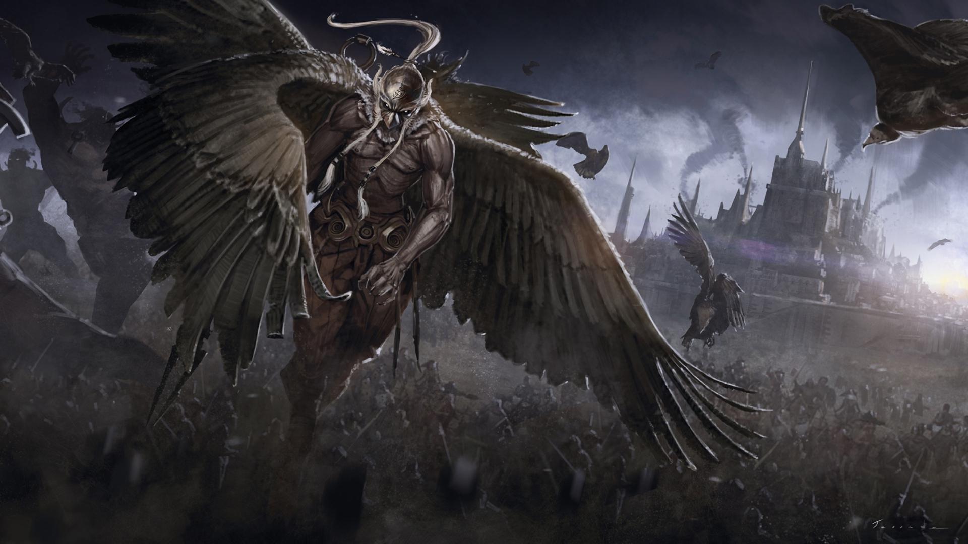 Warrior Battle Army Creatures War Cities Castle Dark Download