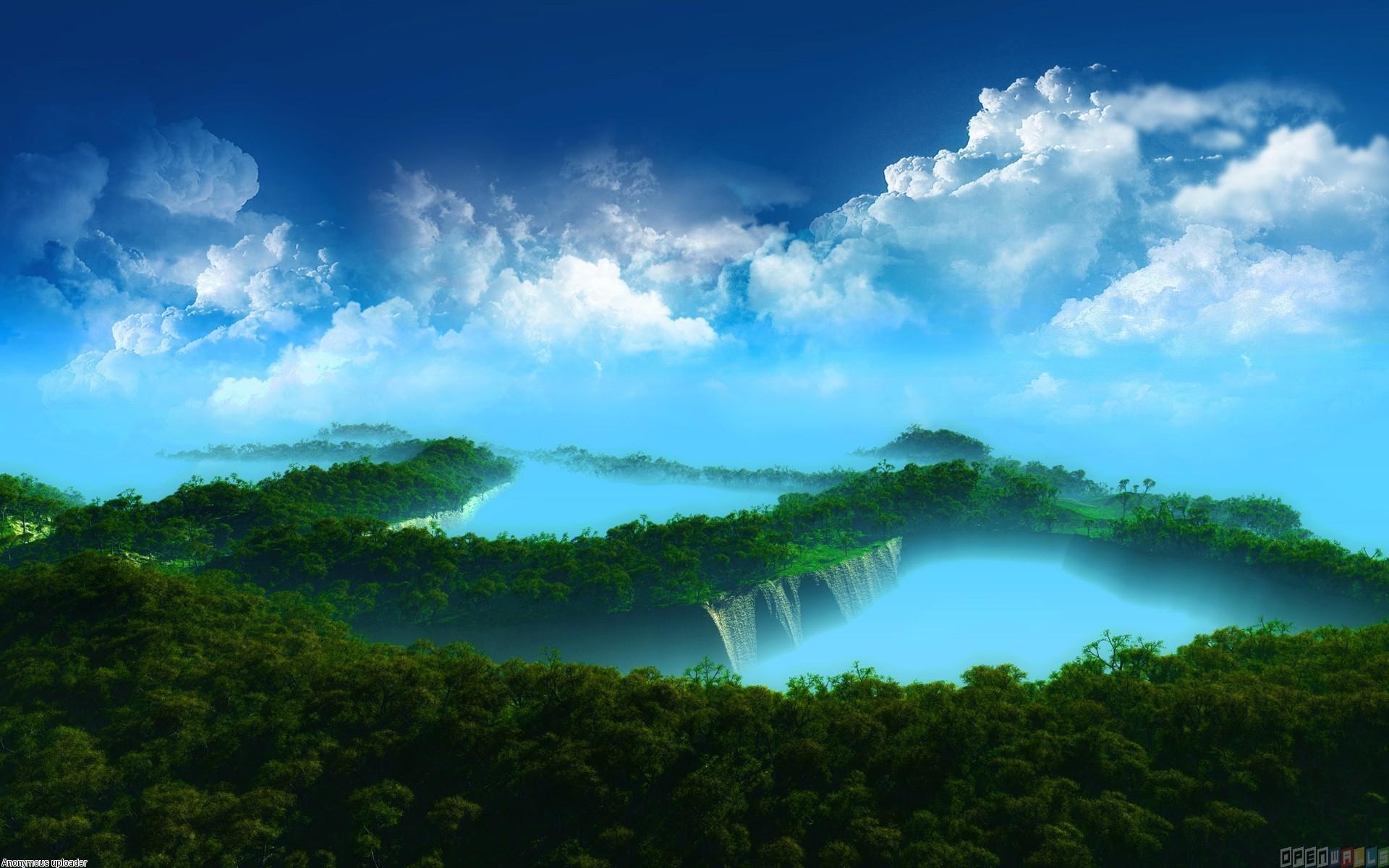 Heaven Vs Hell HD desktop wallpaper : Widescreen : High Definition 1920×1200