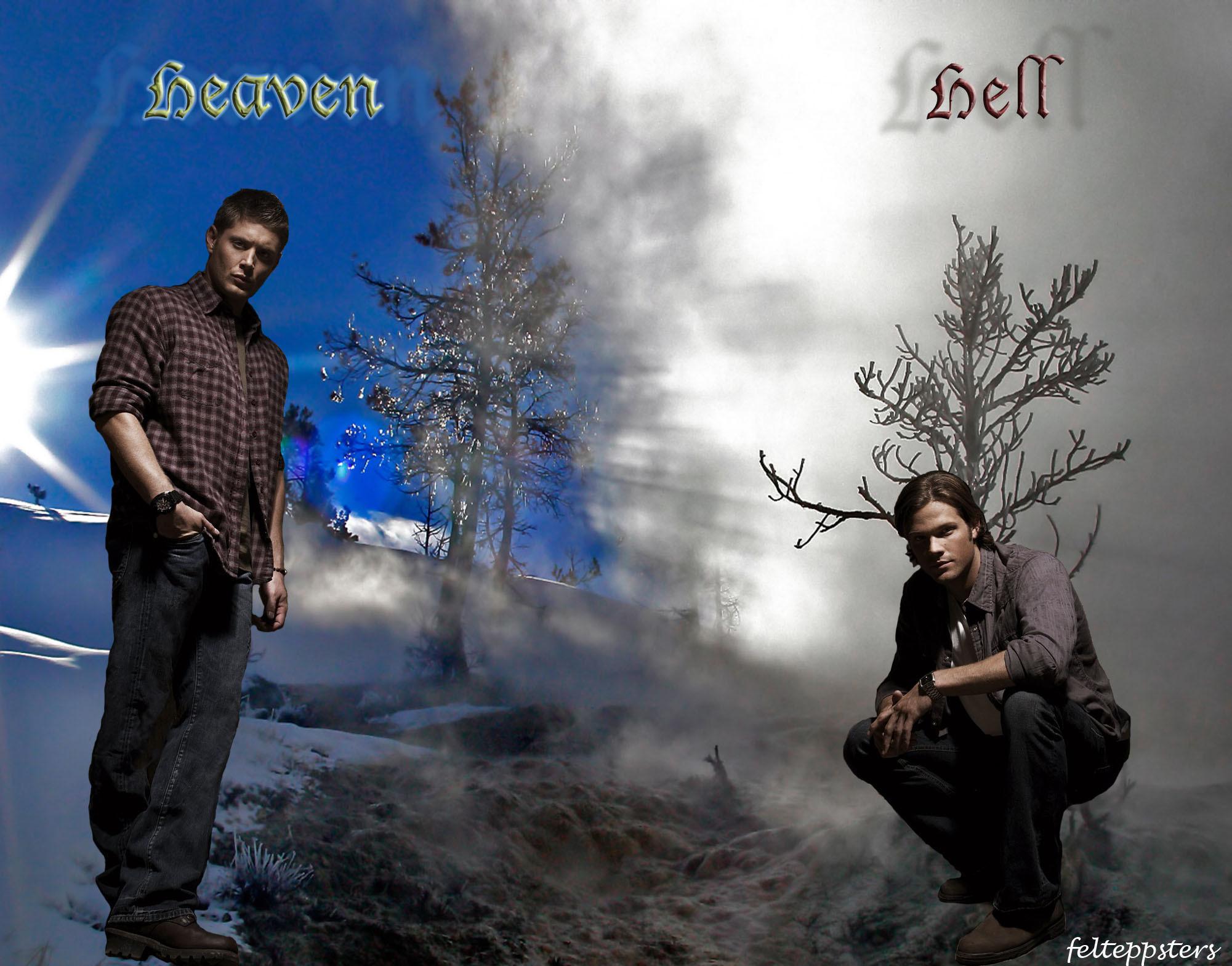 heaven vs hell war