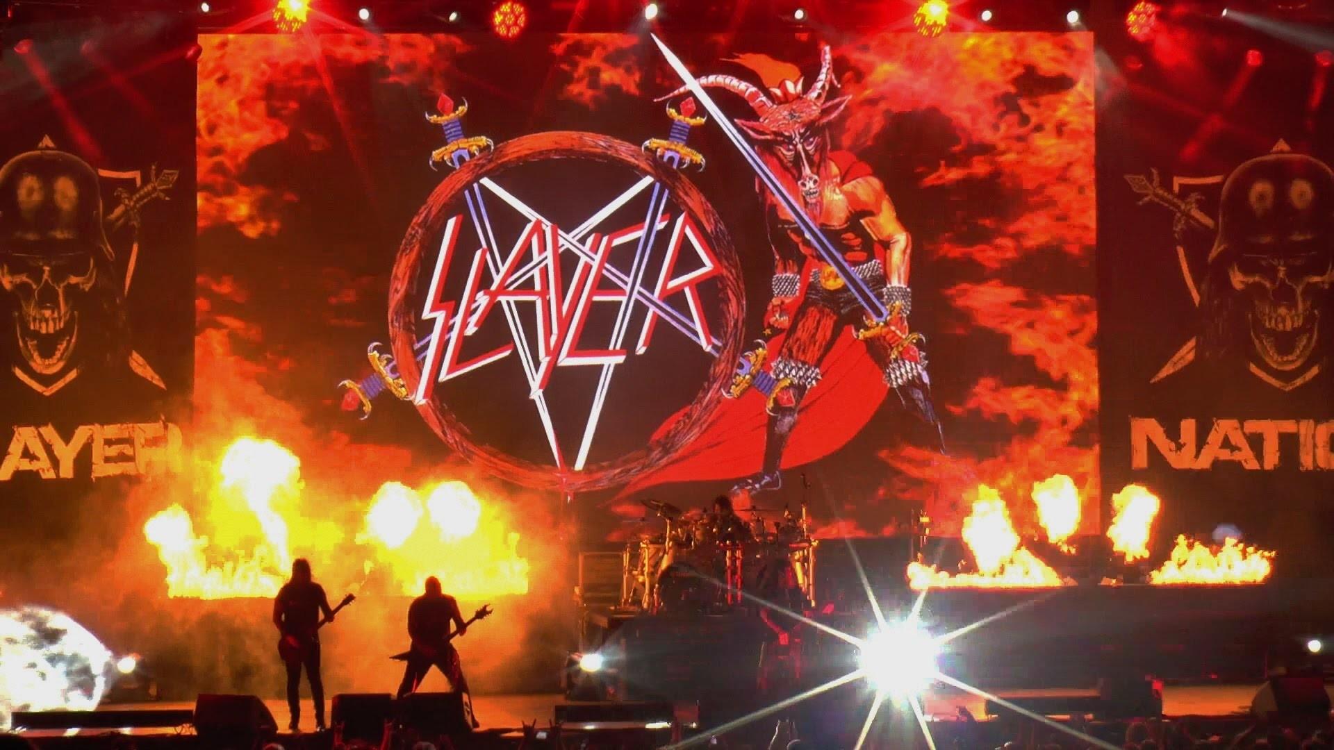 Slayer – Hell Awaits / South of Heaven, Chula Vista, CA 6-26-15 – YouTube