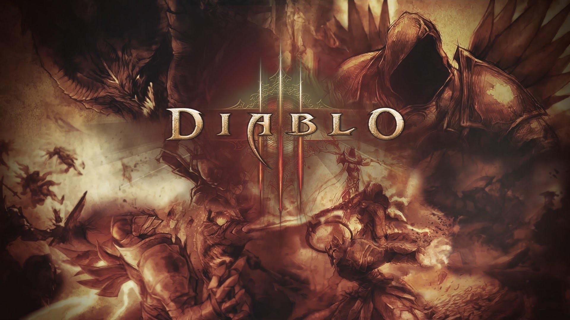 Diablo 3 Wallpaper Angels vs Demons by PT-Desu on DeviantArt