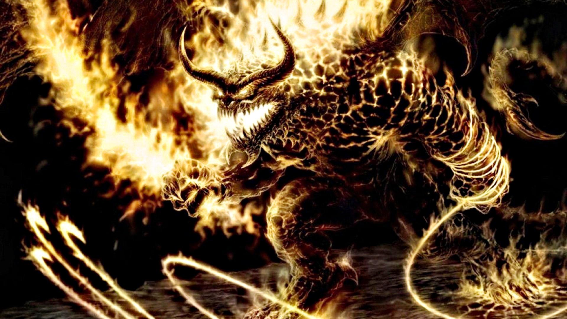 Bull Devil Demon of Hell Wallpaper HD 3219 Wallpaper with .