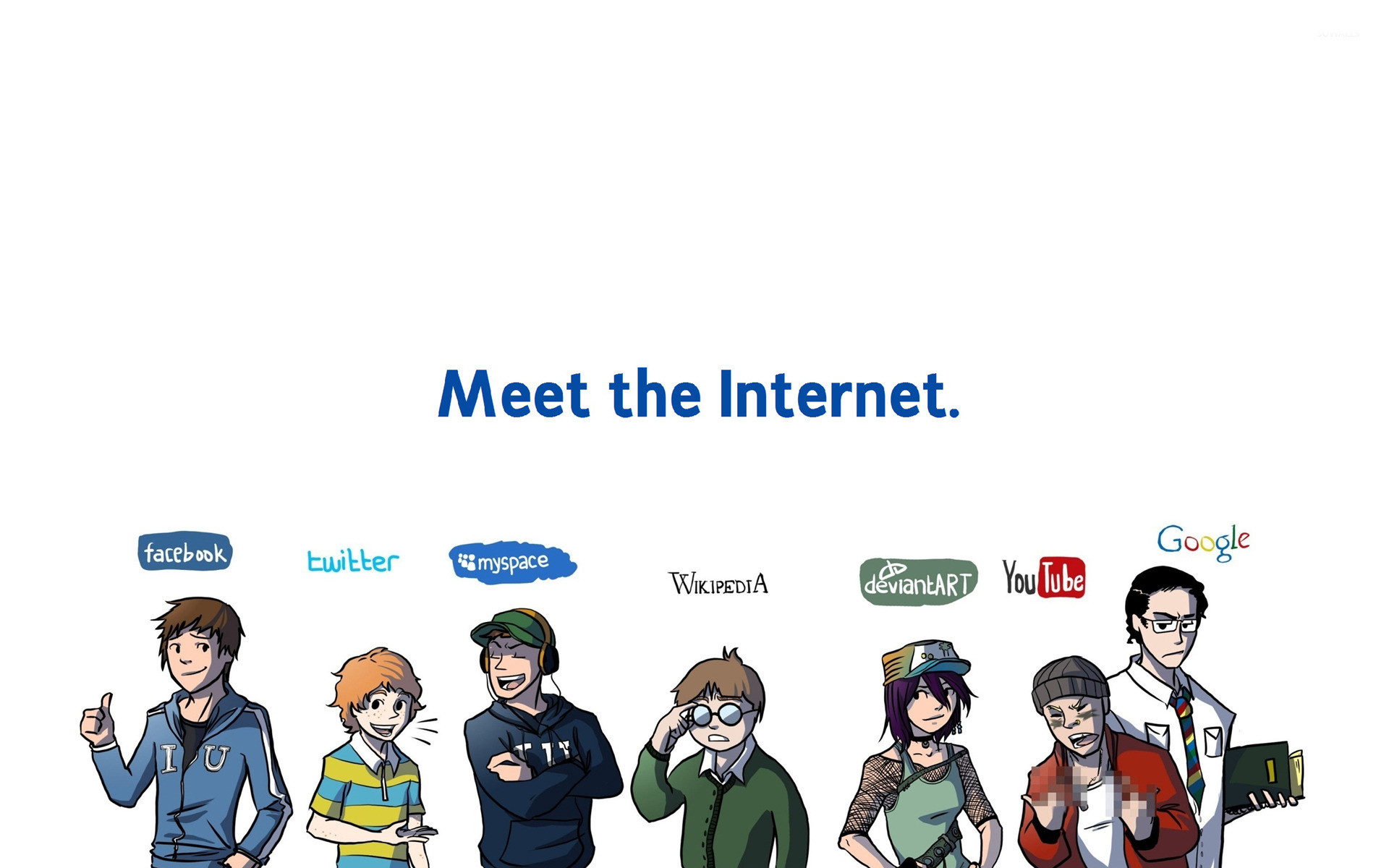 The internet personified wallpaper jpg