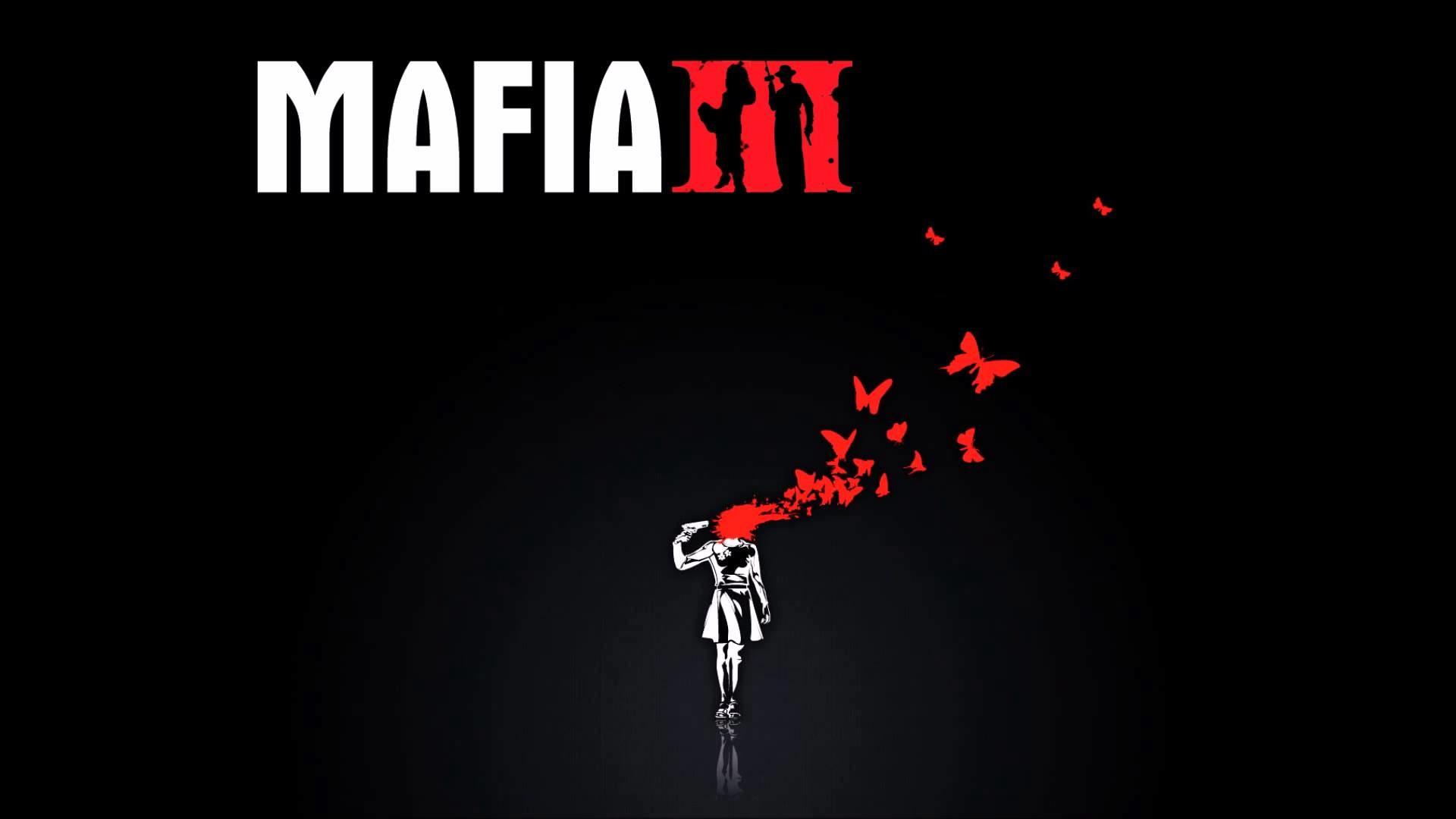 Preview wallpaper mafia 3, logo, art, shot 1920×1080