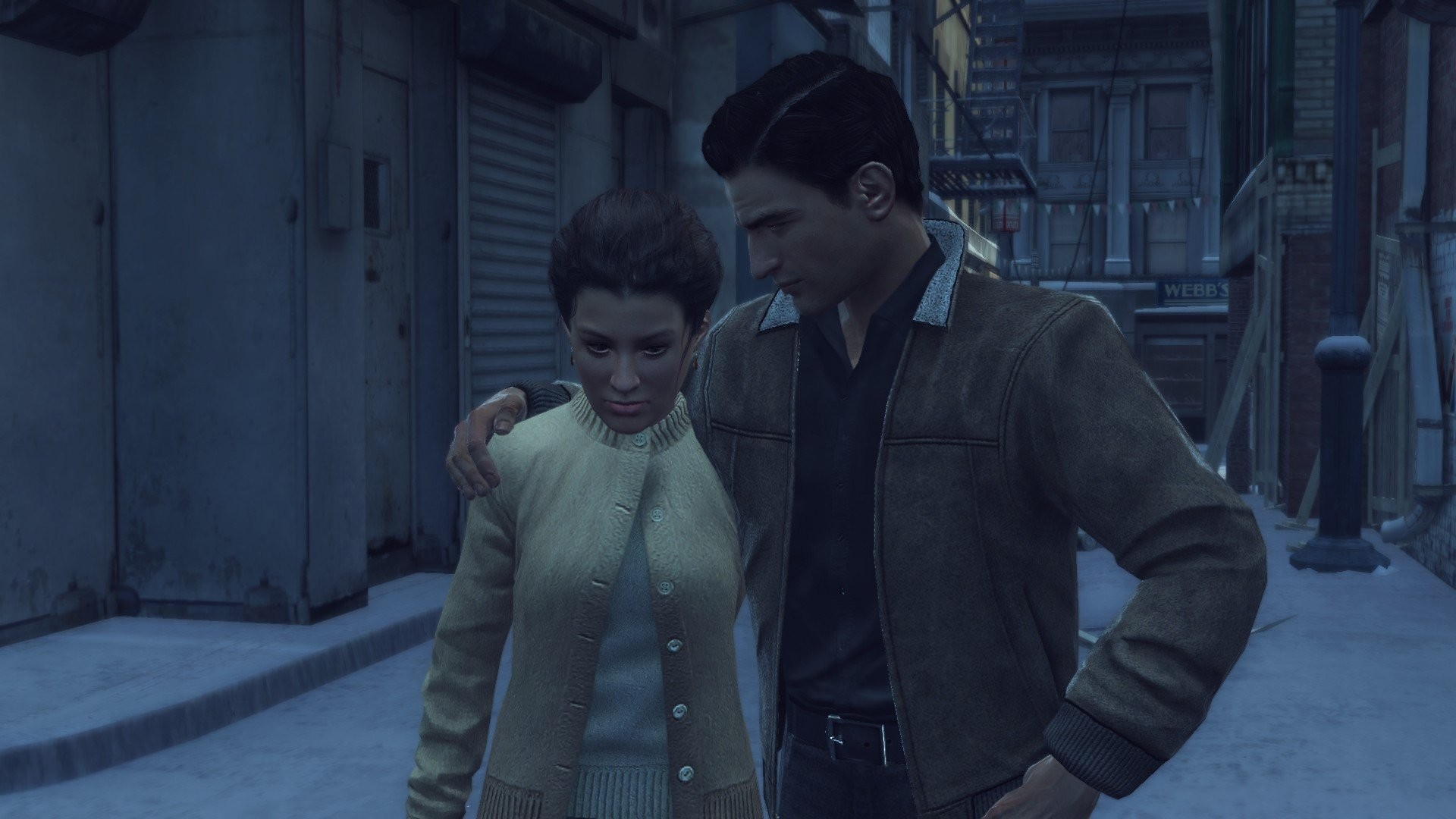 Mafia II Video Games Cities Gangsters