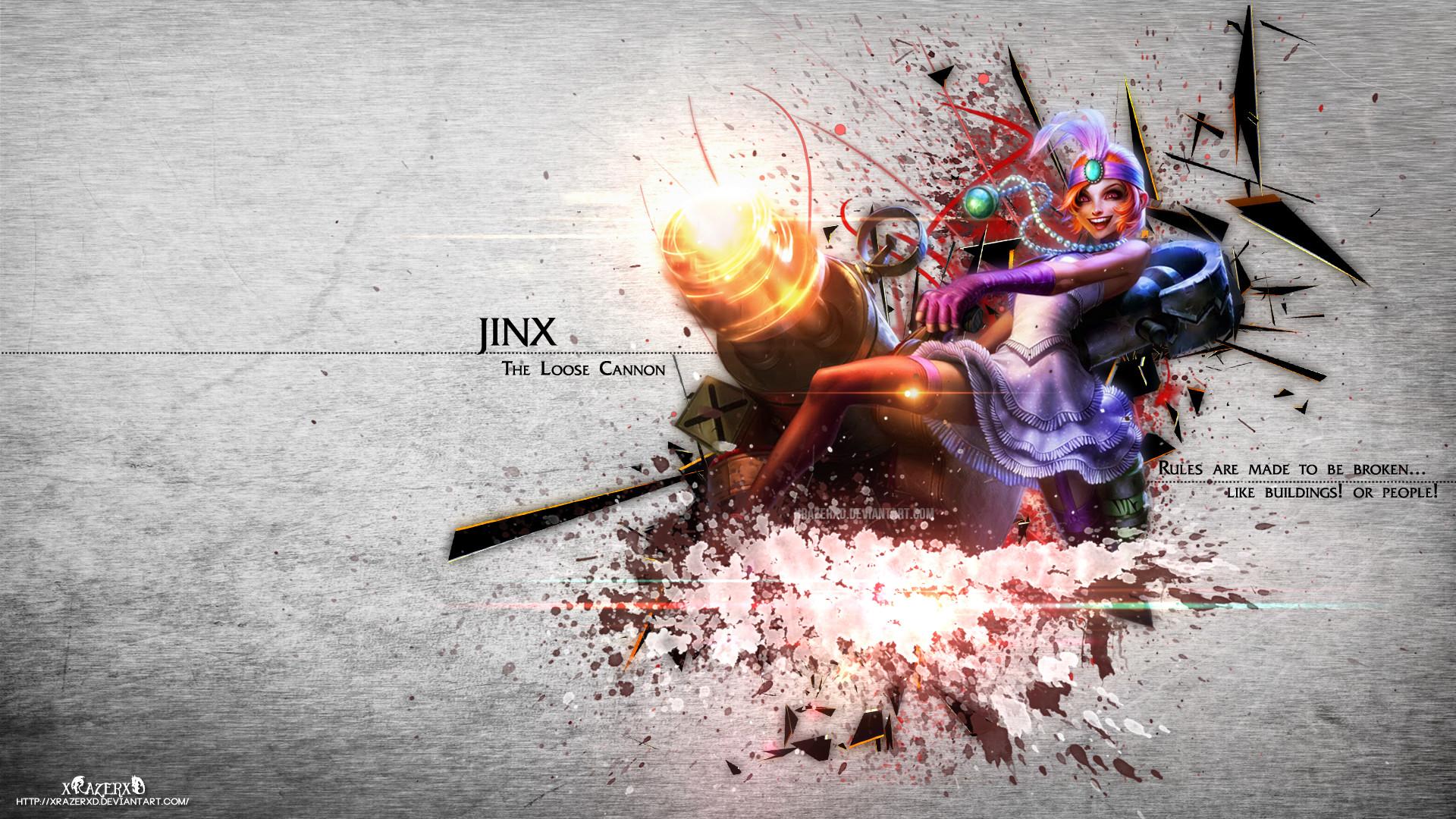 Video Game – League Of Legends Jinx (League Of Legends) Wallpaper