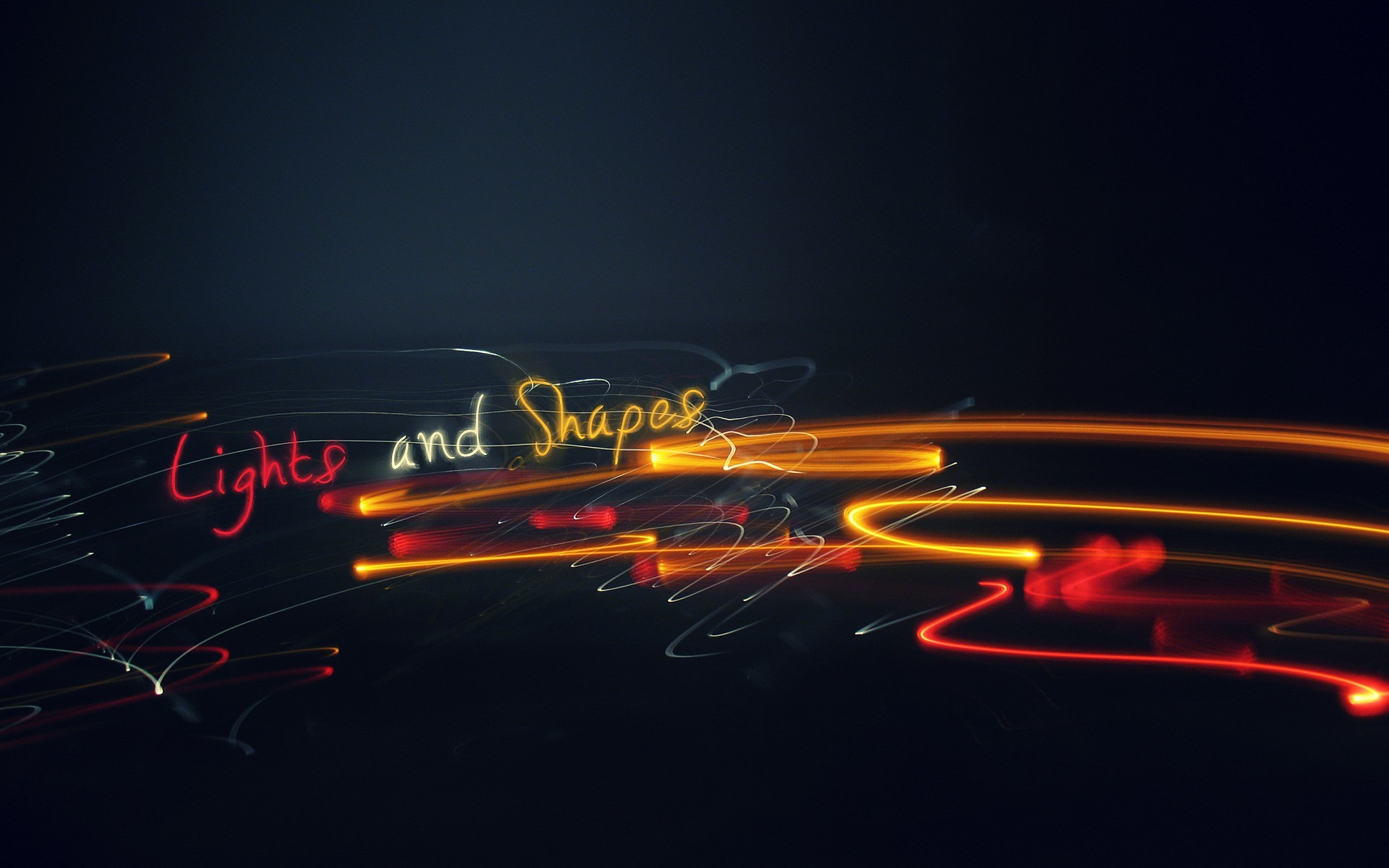 Lights and Shapes Wallpaper Abstract Other