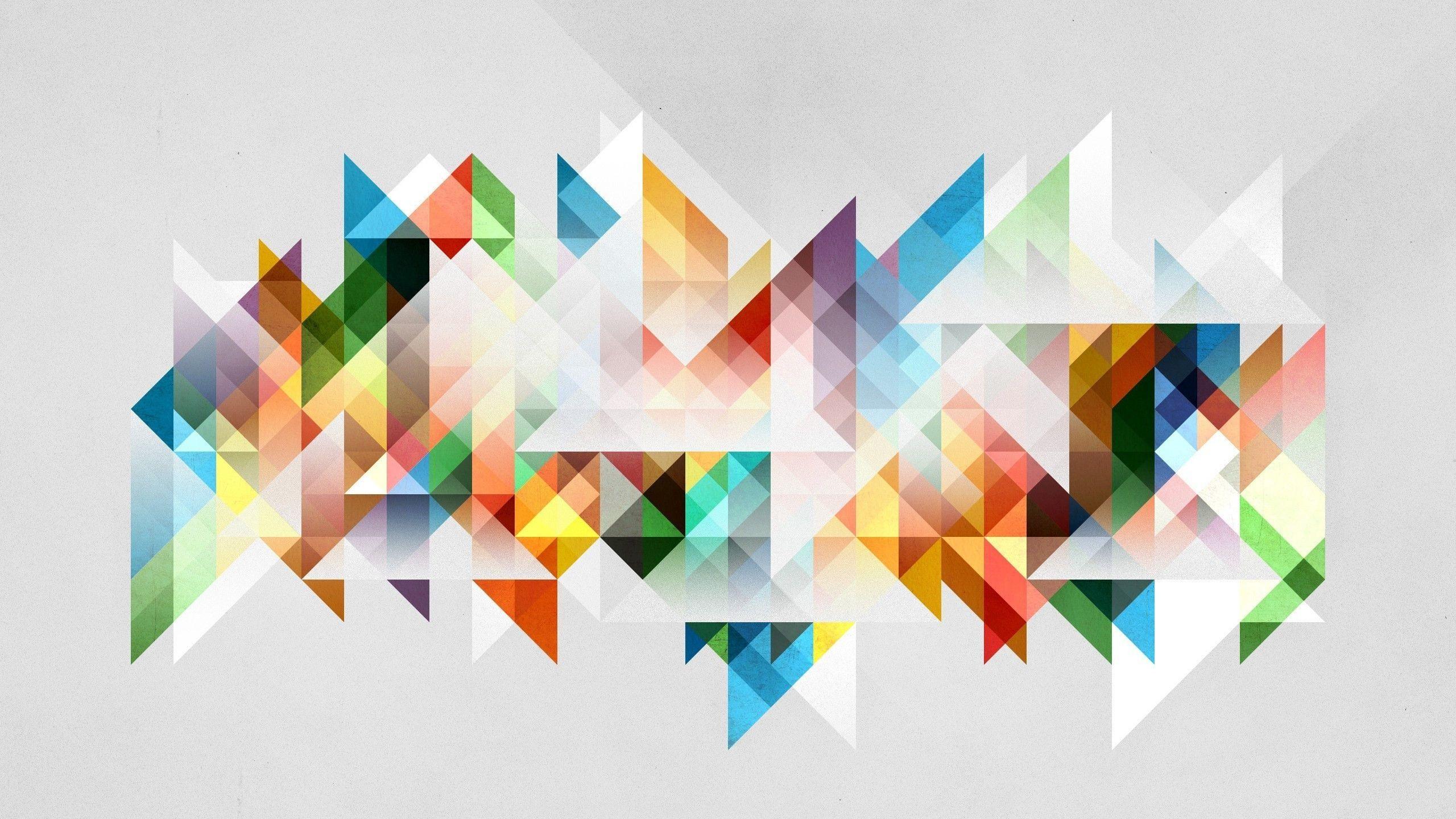 Triangle Shape Wallpaper