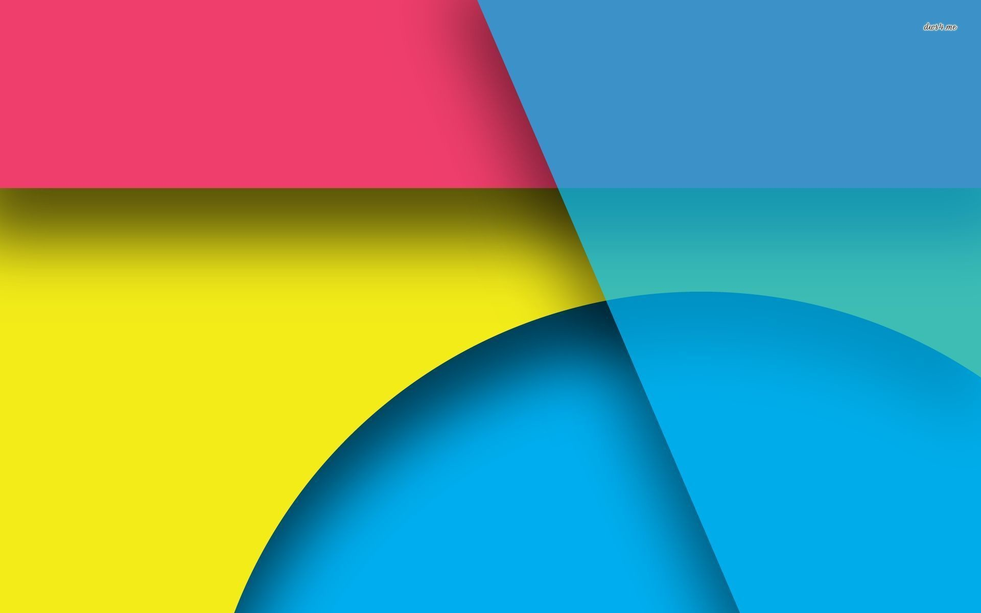 Bright shapes wallpaper – Abstract wallpapers – #22782